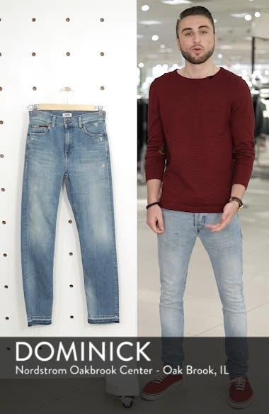 Izzy High Waist Slim Leg Jeans, sales video thumbnail