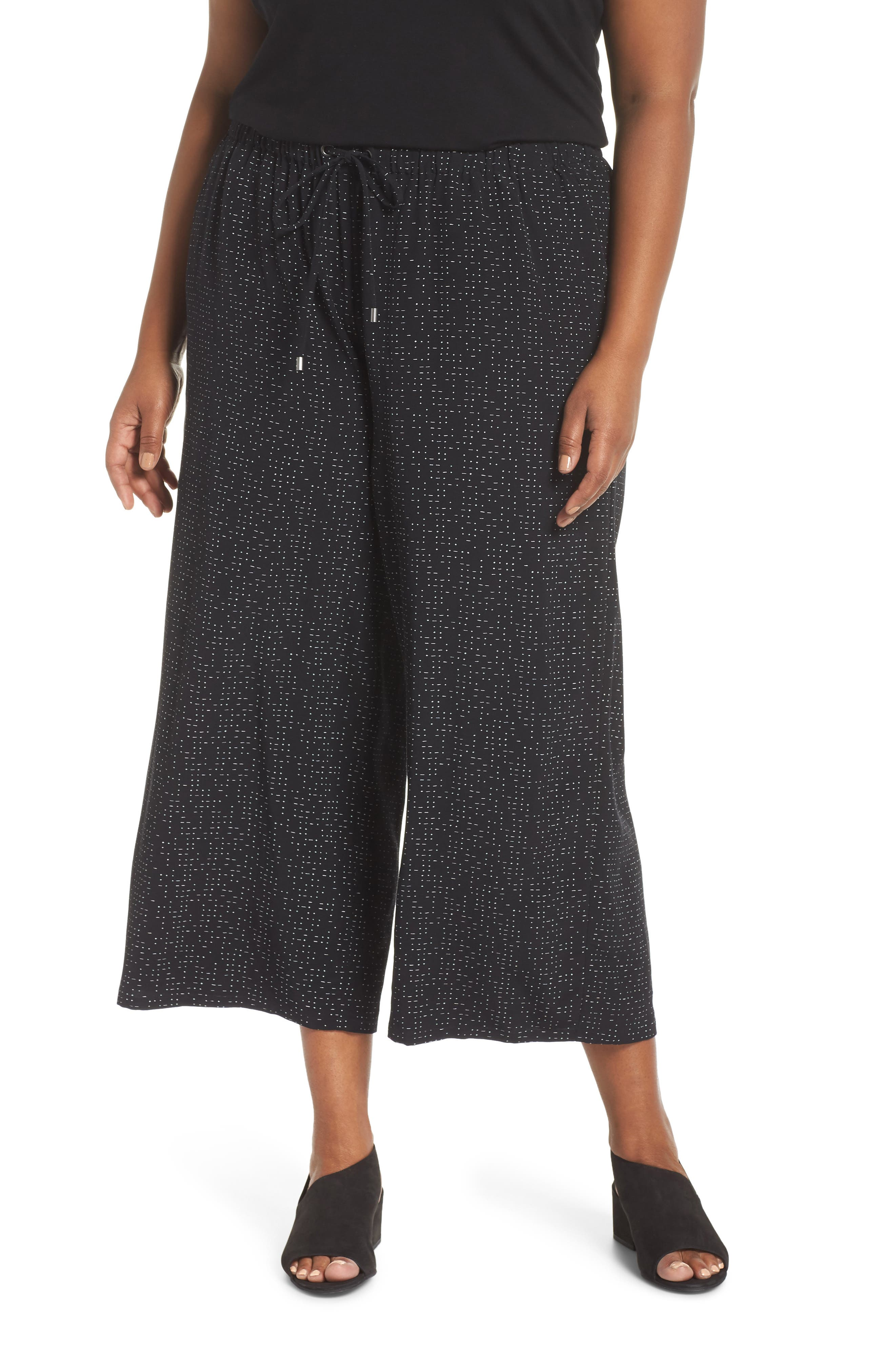 Wide Leg Crop Pants,                         Main,                         color, 001
