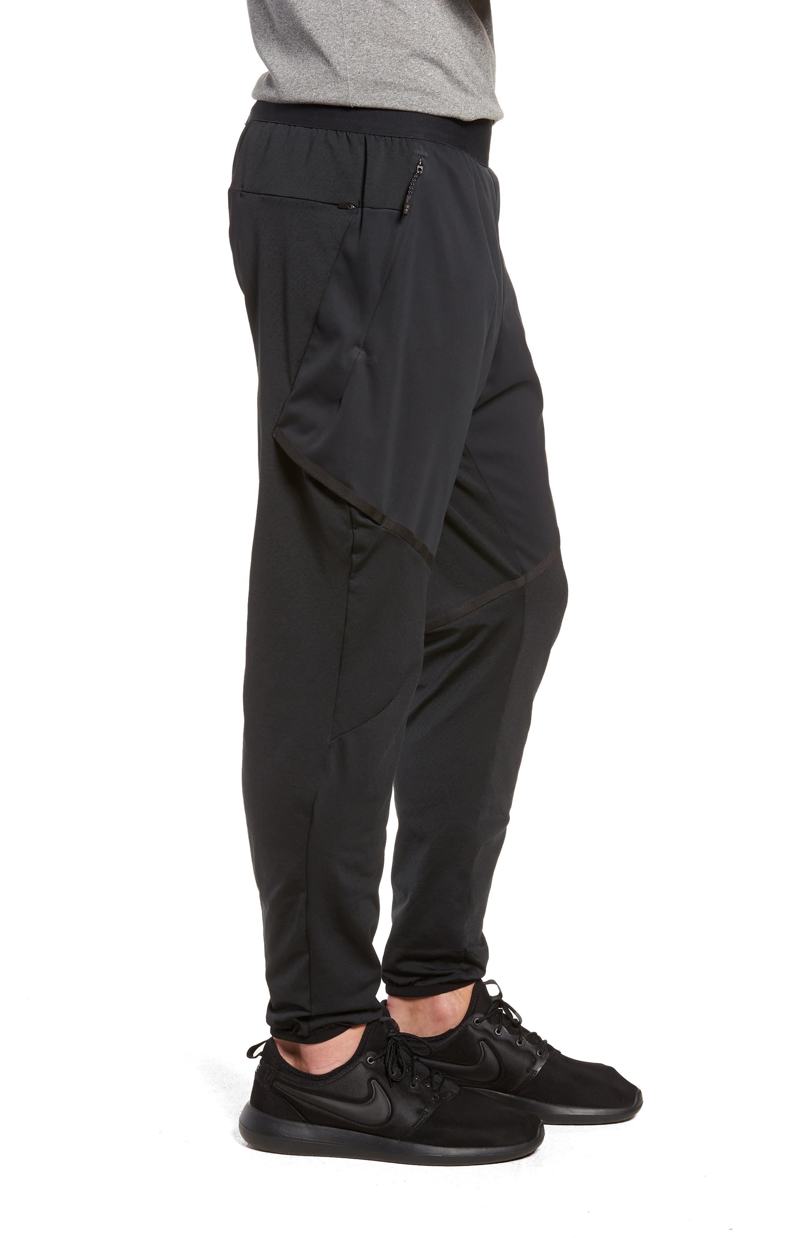 Training Flex Pants,                             Alternate thumbnail 3, color,                             BLACK/ BLACK