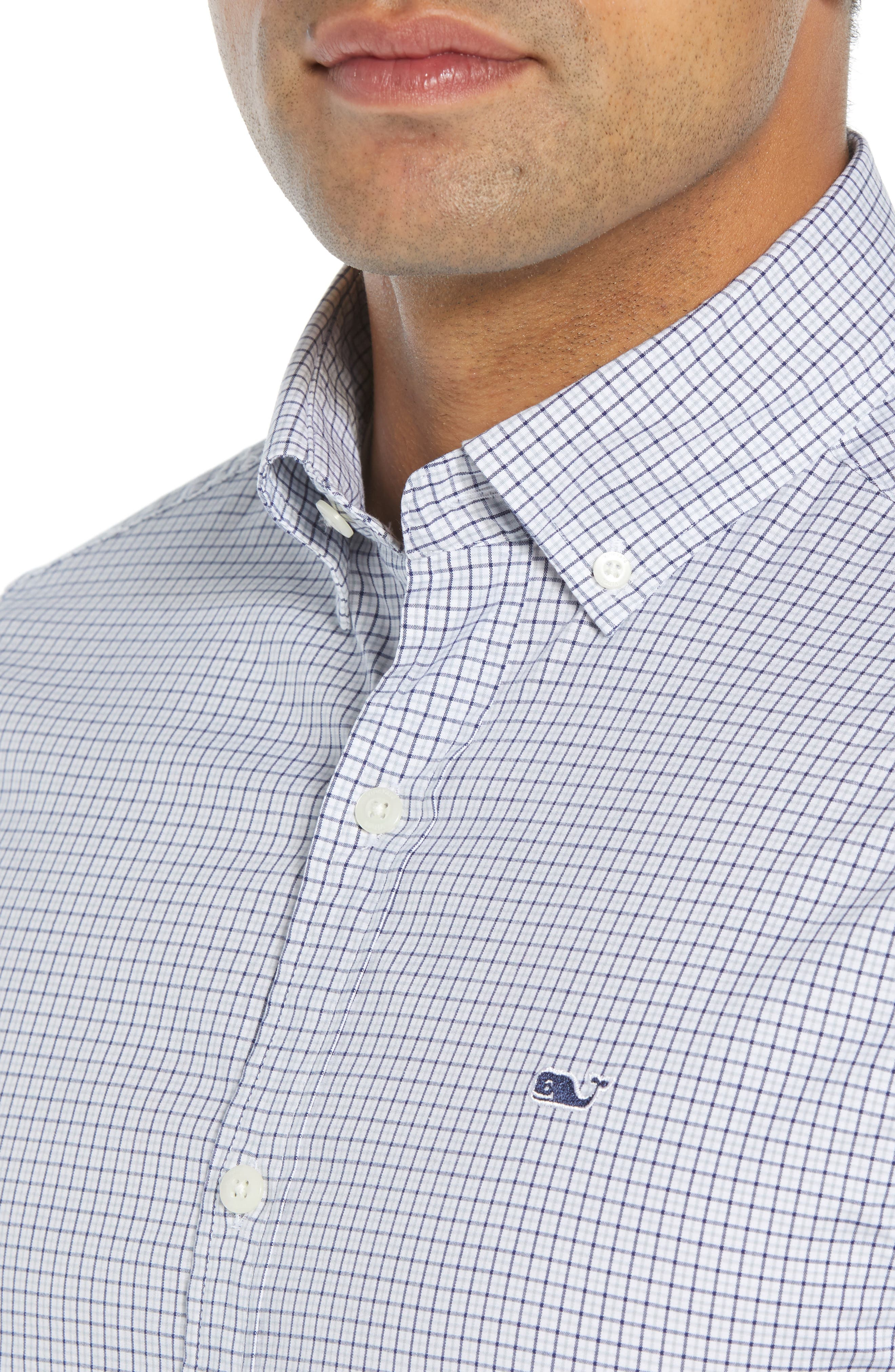 Beechcroft Regular Fit Check Sport Shirt,                             Alternate thumbnail 2, color,                             034
