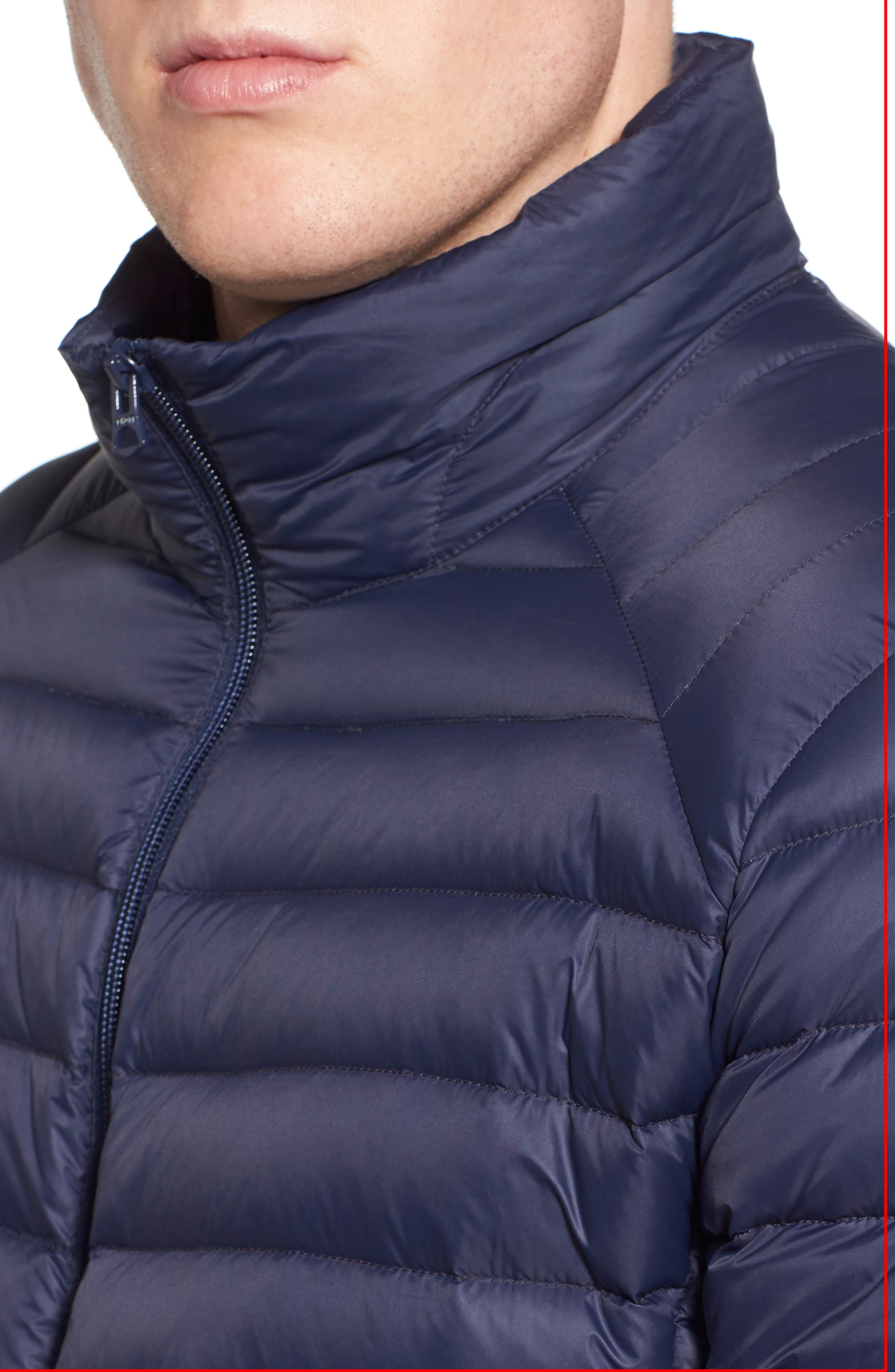 Quilted Down Jacket,                             Alternate thumbnail 16, color,