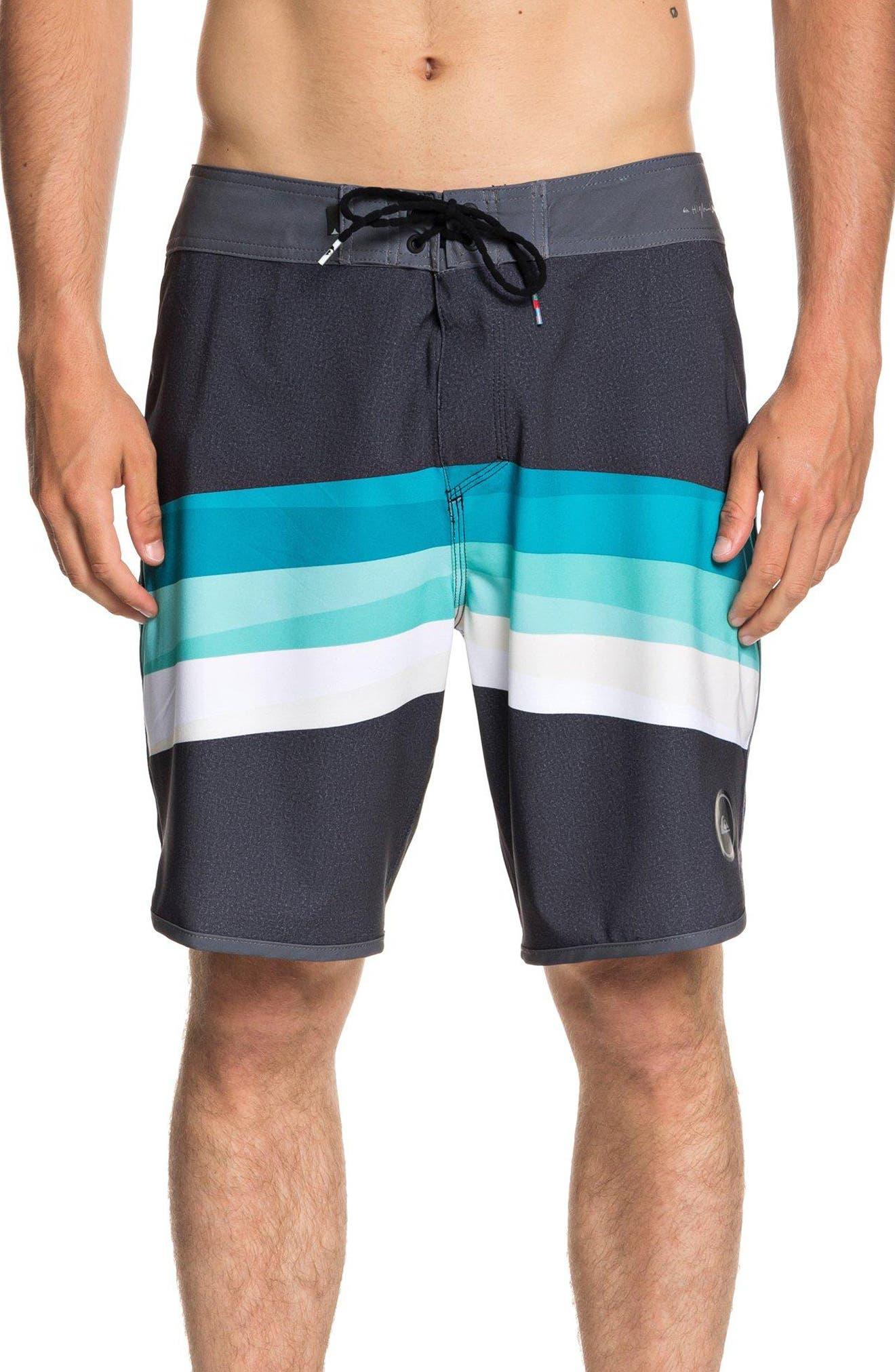 QUIKSILVER,                             Highline Reverse Board Shorts,                             Main thumbnail 1, color,                             002