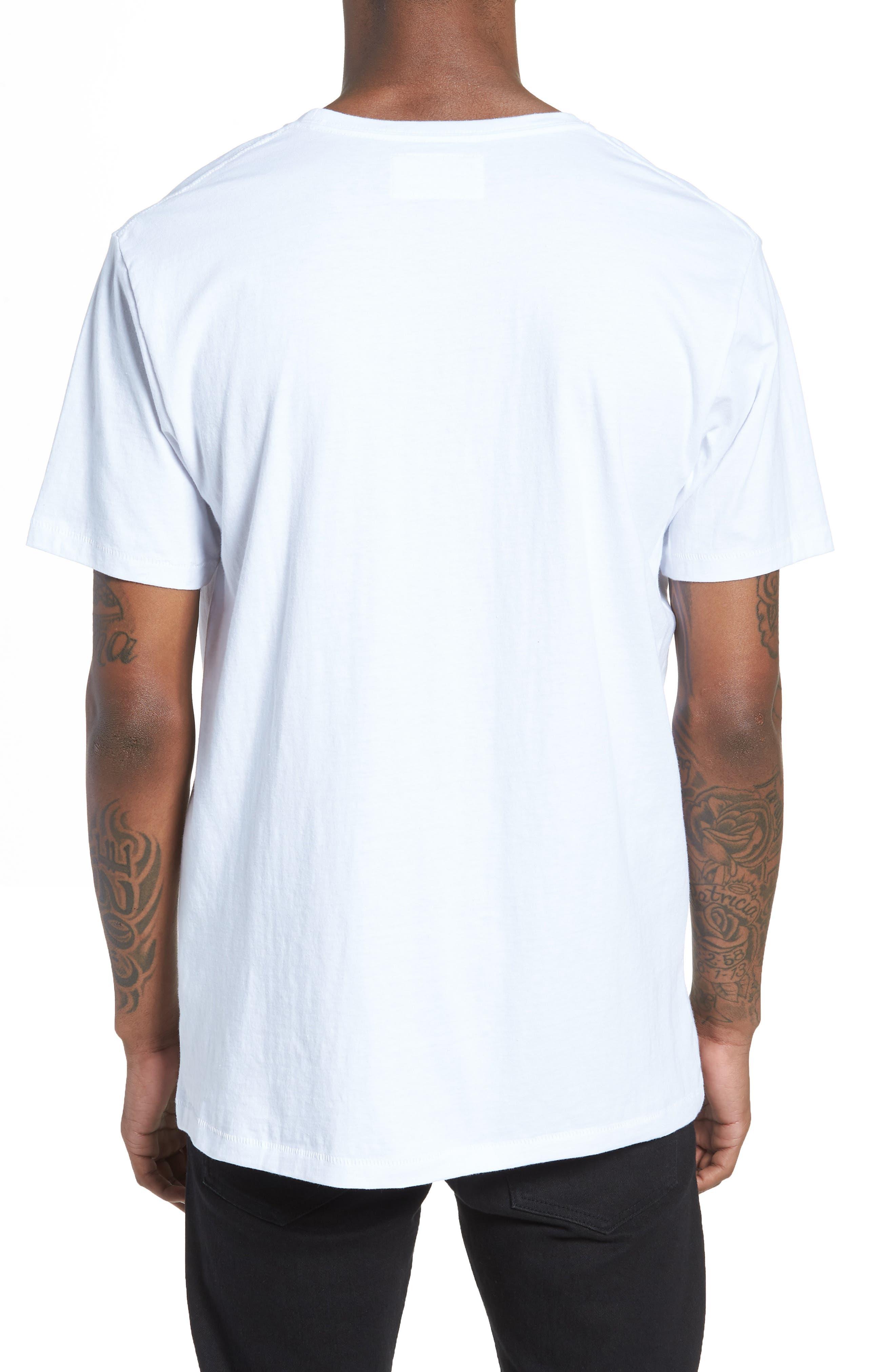 Emo Badge T-Shirt,                             Alternate thumbnail 2, color,                             100