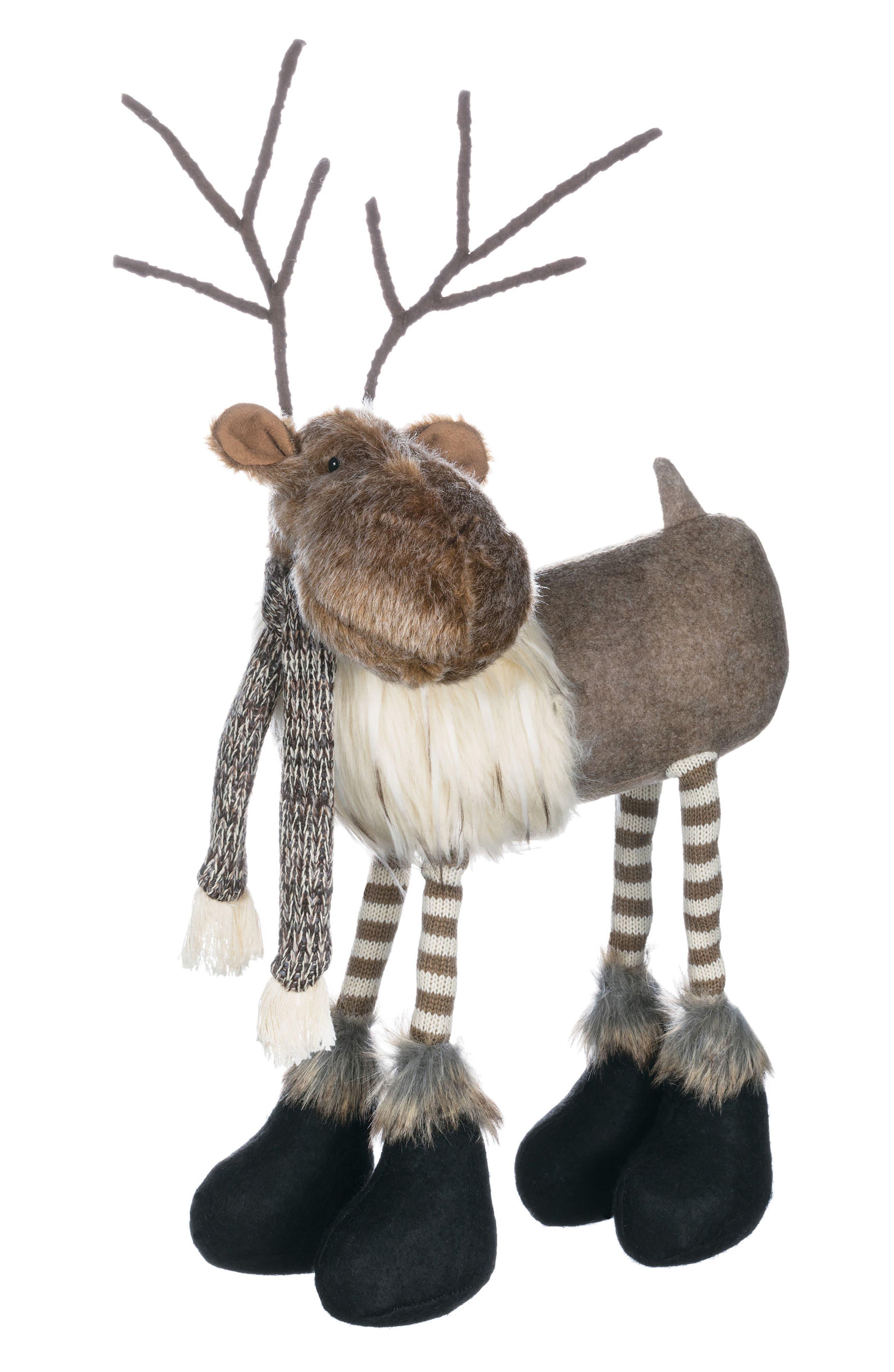 Standing Reindeer Decoration,                             Main thumbnail 1, color,                             200