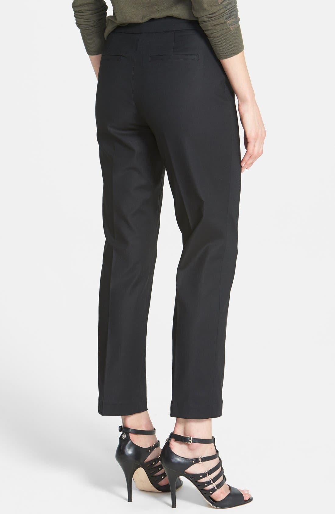 The Perfect Ankle Pants,                             Alternate thumbnail 3, color,                             BLACK ONYX