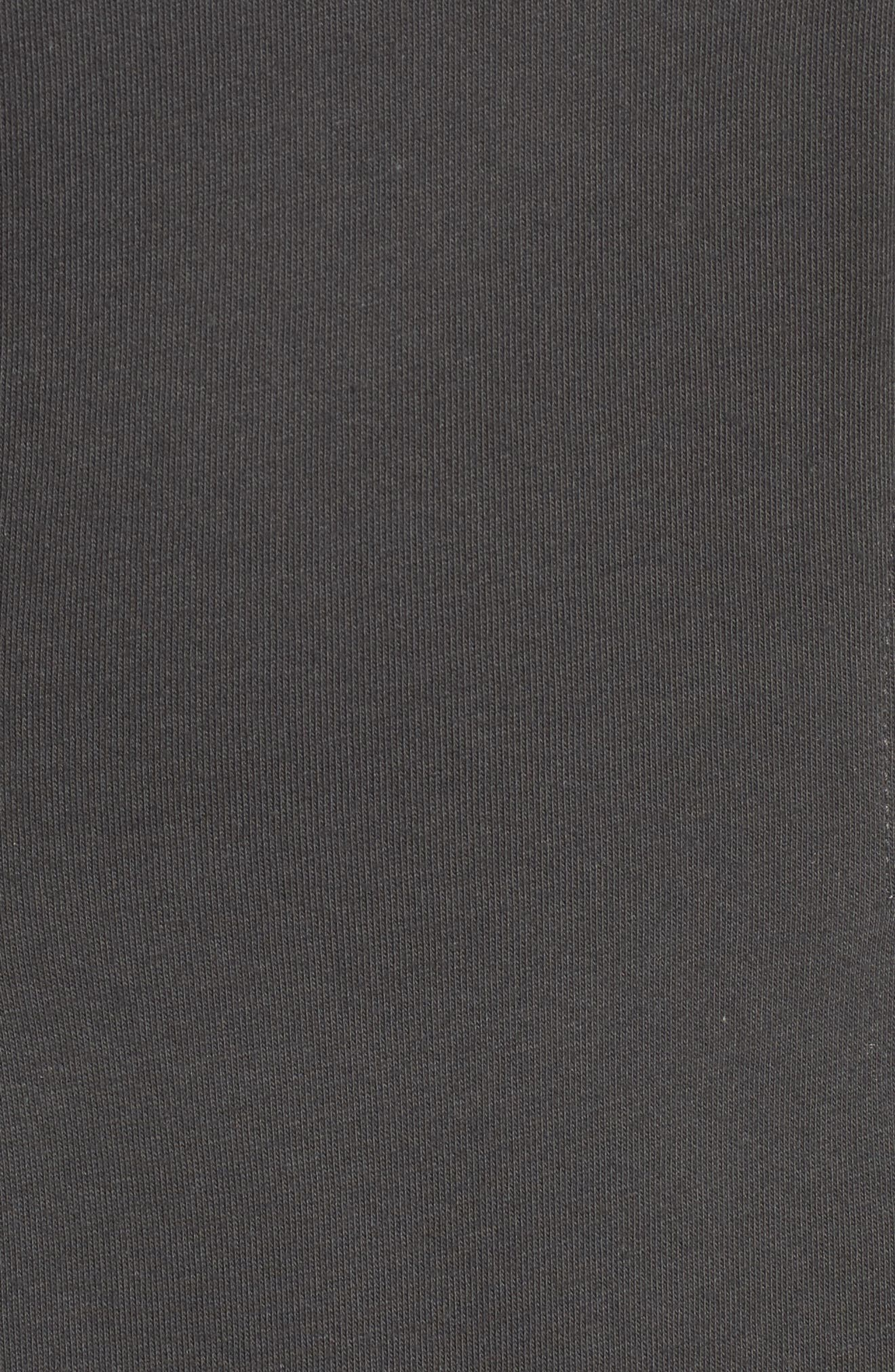 Cotton T-Shirt Dress,                             Alternate thumbnail 5, color,                             020
