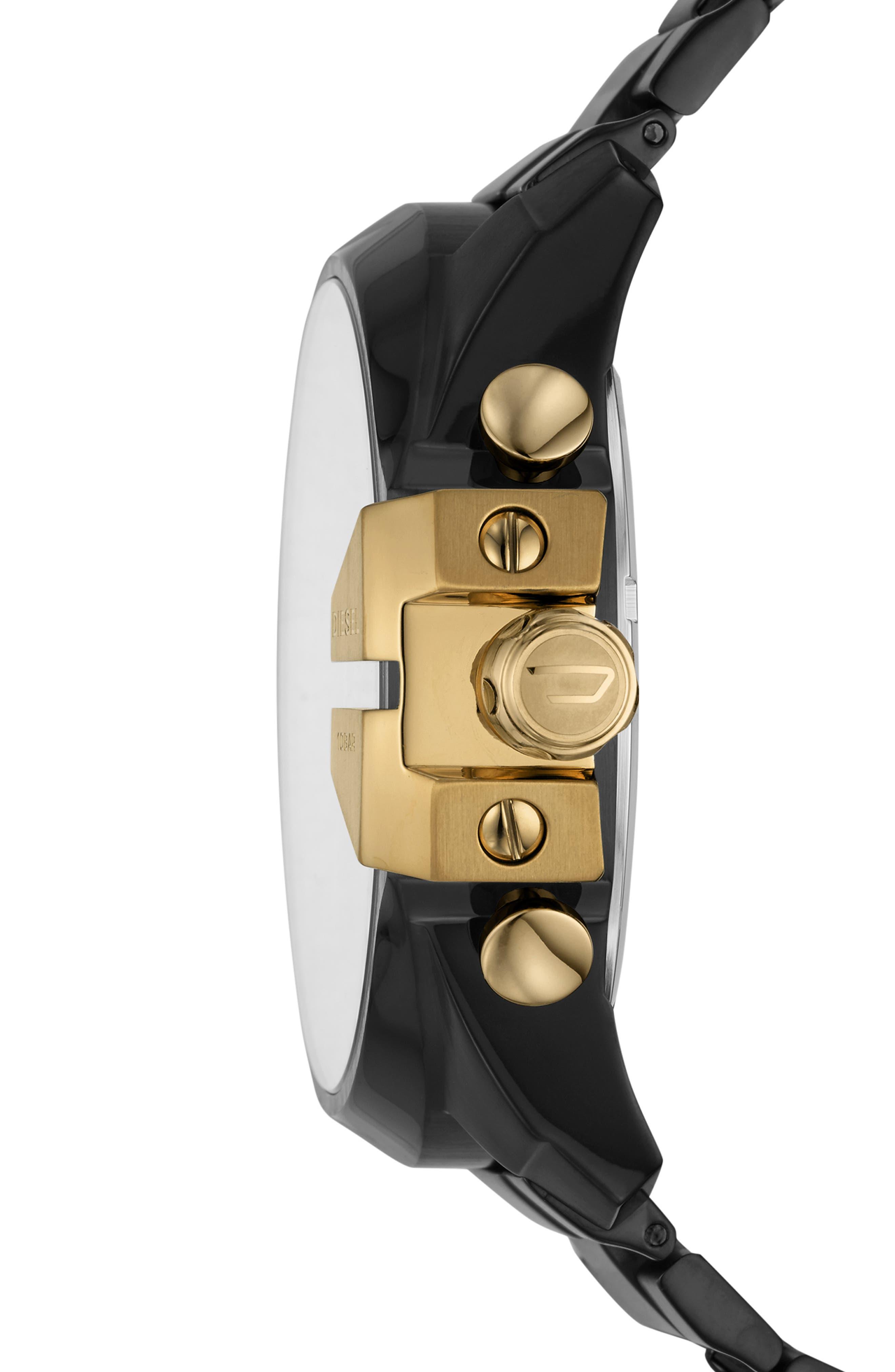 Mega Chief Chronograph Bracelet Watch, 51mm,                             Alternate thumbnail 2, color,                             001