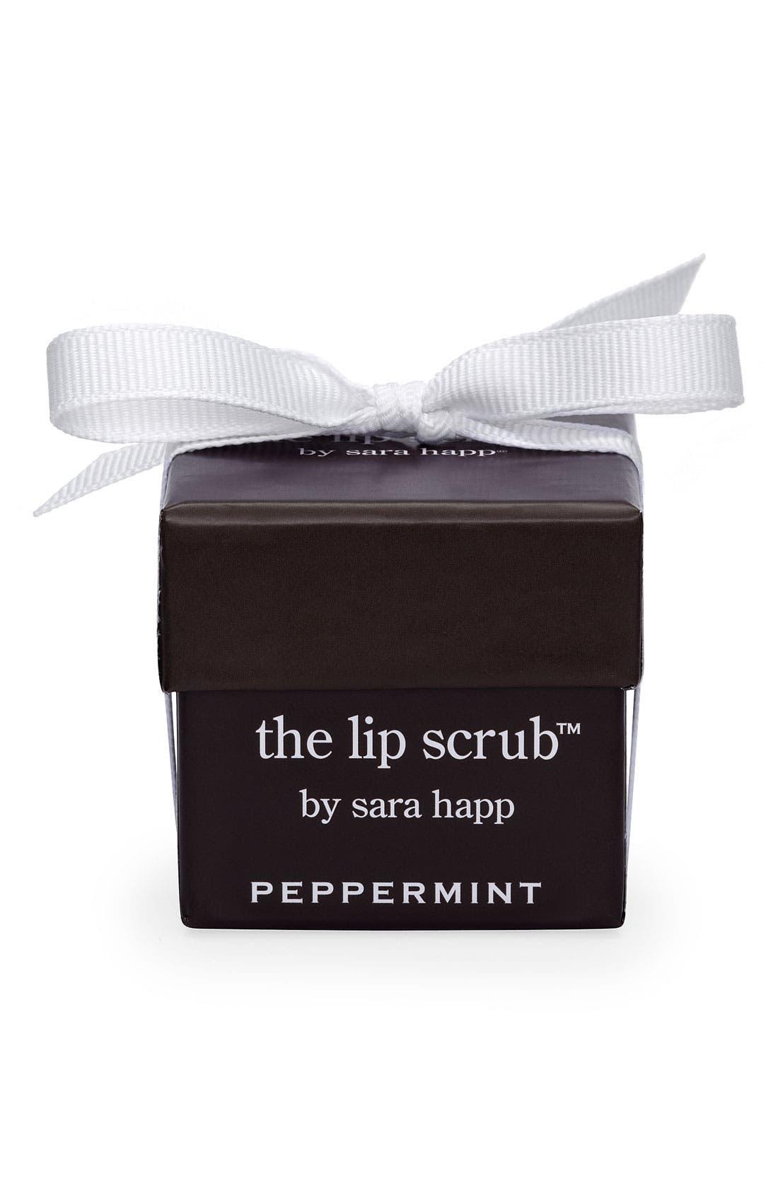 The Lip Scrub<sup>™</sup> Peppermint Lip Exfoliator,                             Alternate thumbnail 3, color,                             000