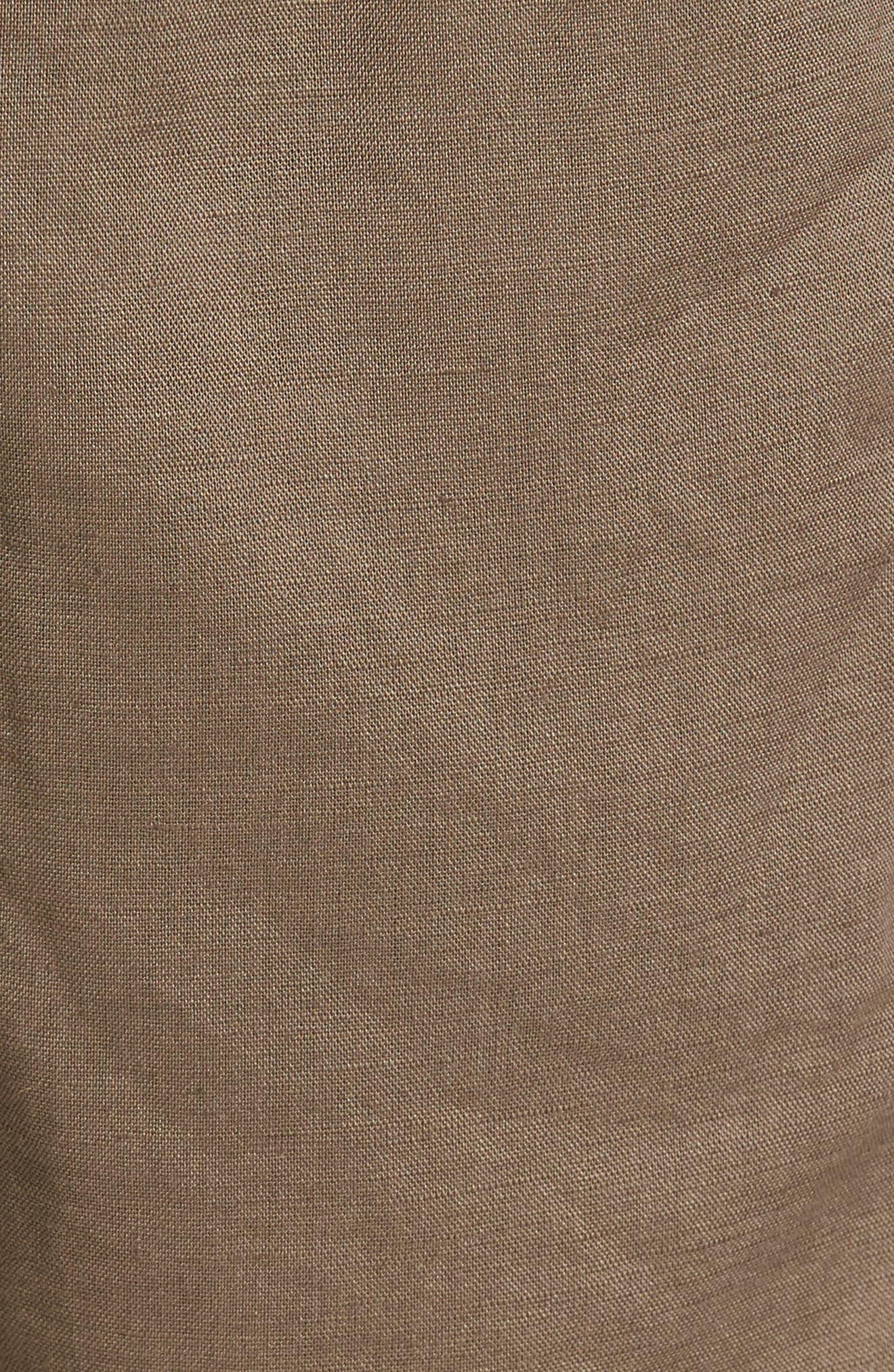 Omni Linen Blend Shorts,                             Alternate thumbnail 5, color,                             310