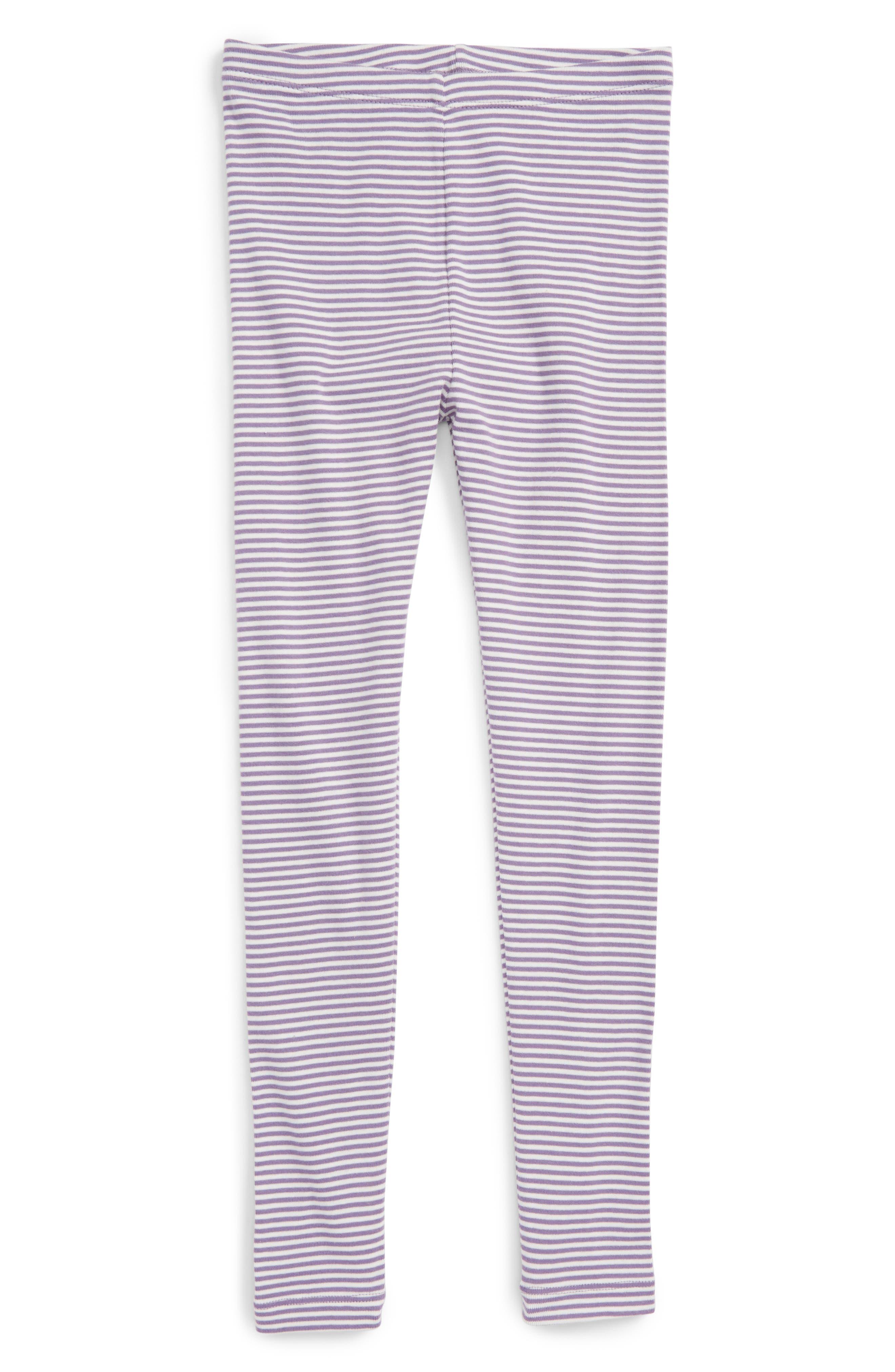 Stripe Cotton Leggings,                             Main thumbnail 3, color,