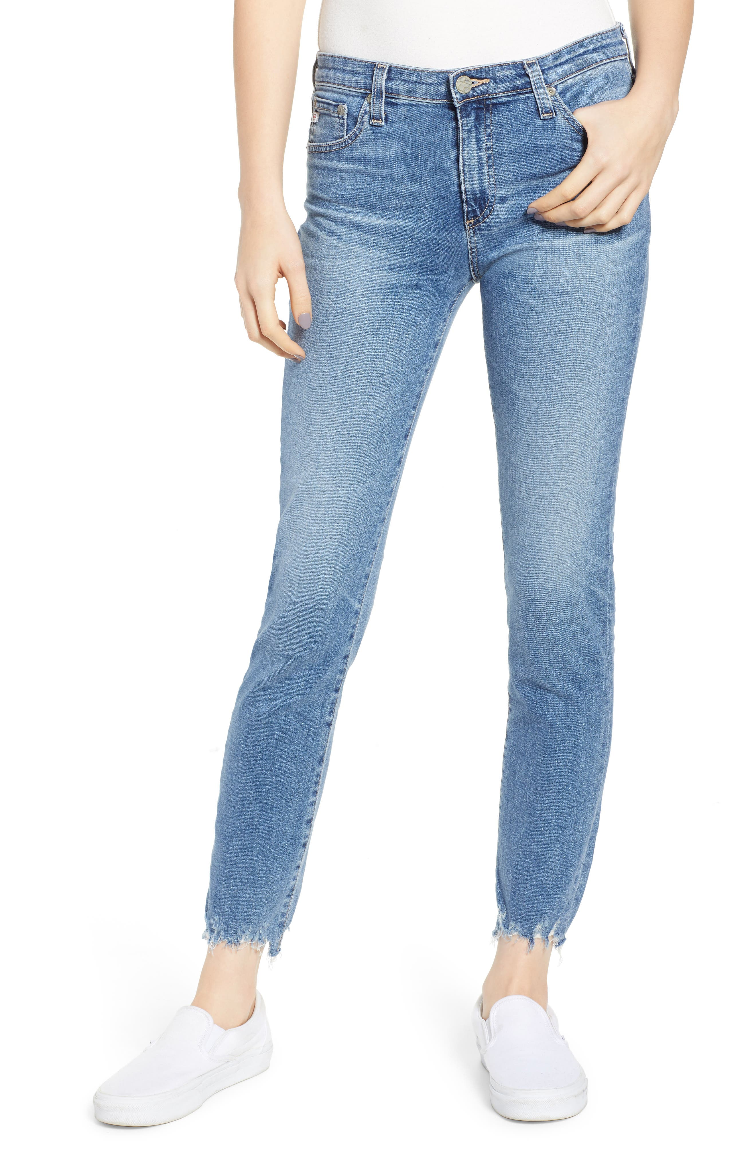 AG The Prima Ankle Skinny Jeans, Main, color, 464