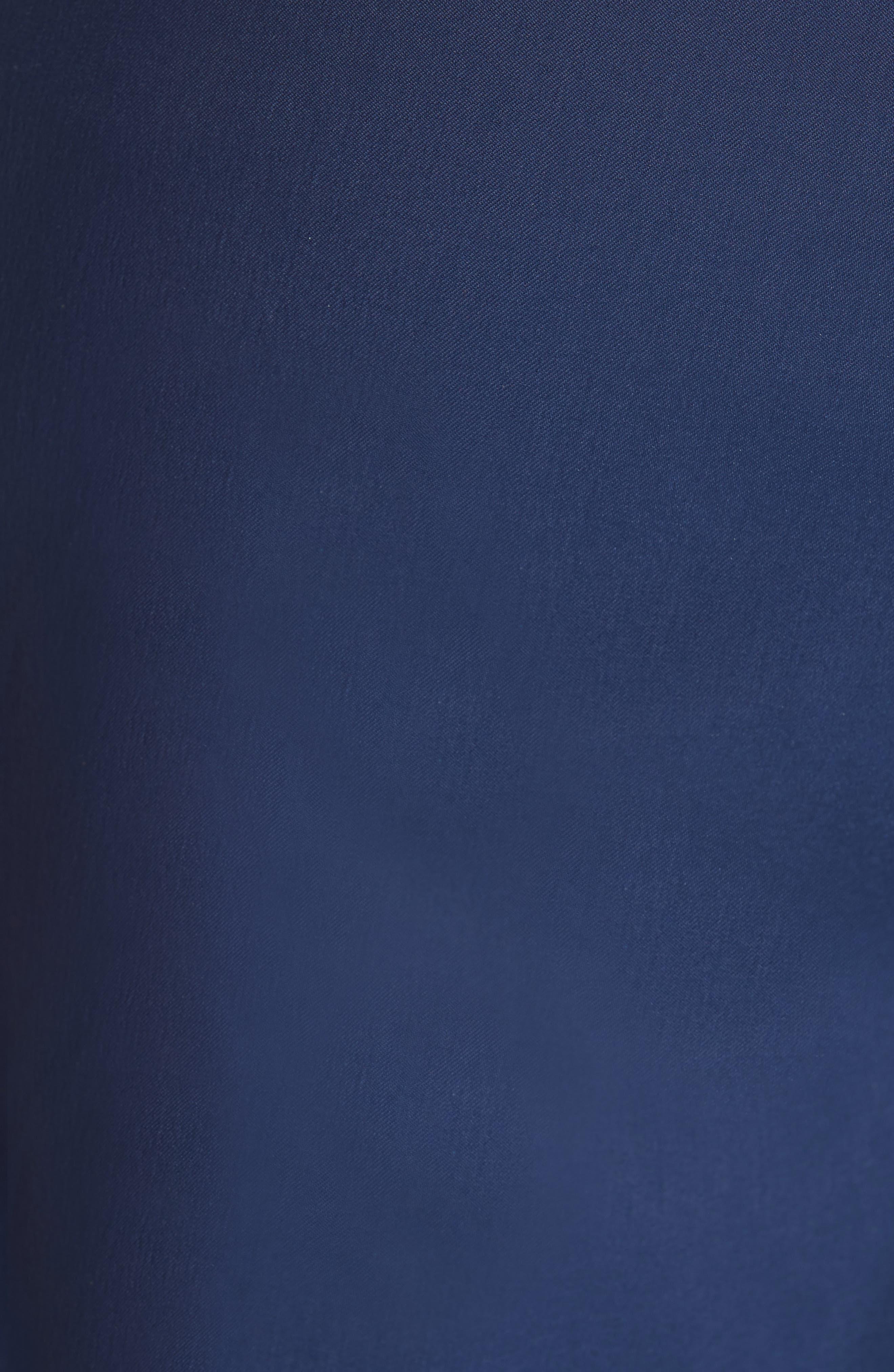 Tricolor Swim Trunks,                             Alternate thumbnail 5, color,                             BLUE