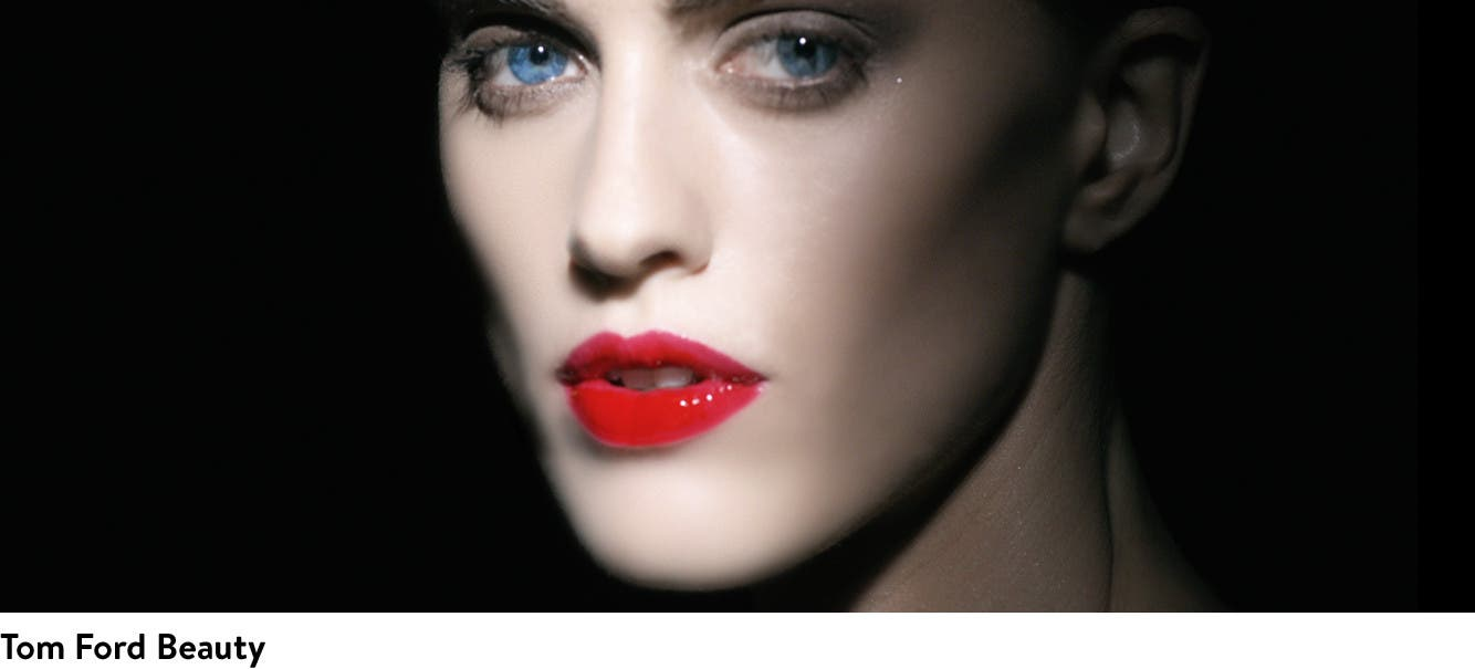 Luxurious makeup from Tom Ford Beauty.
