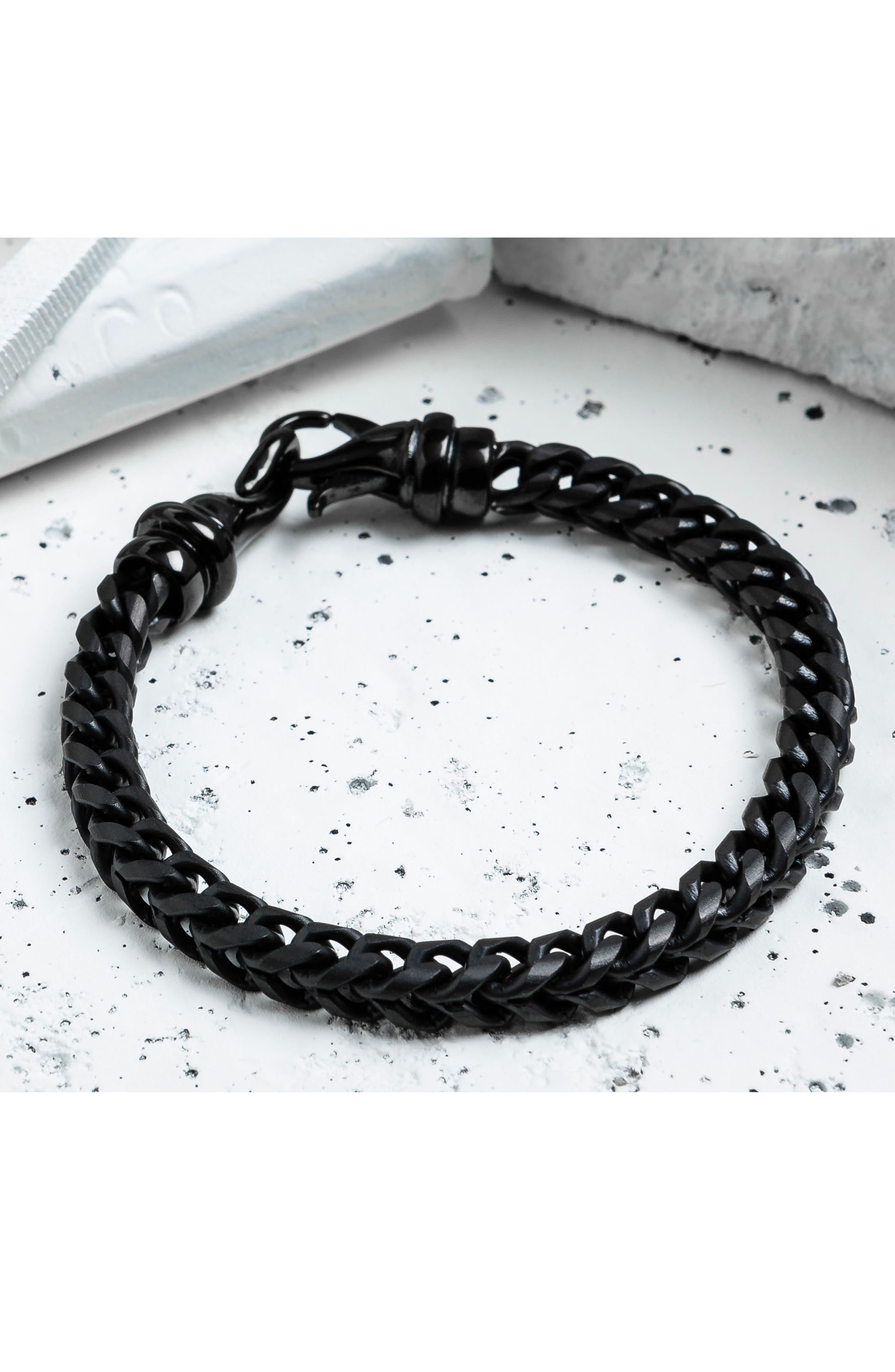 Kusari Chain Bracelet,                             Alternate thumbnail 4, color,                             001
