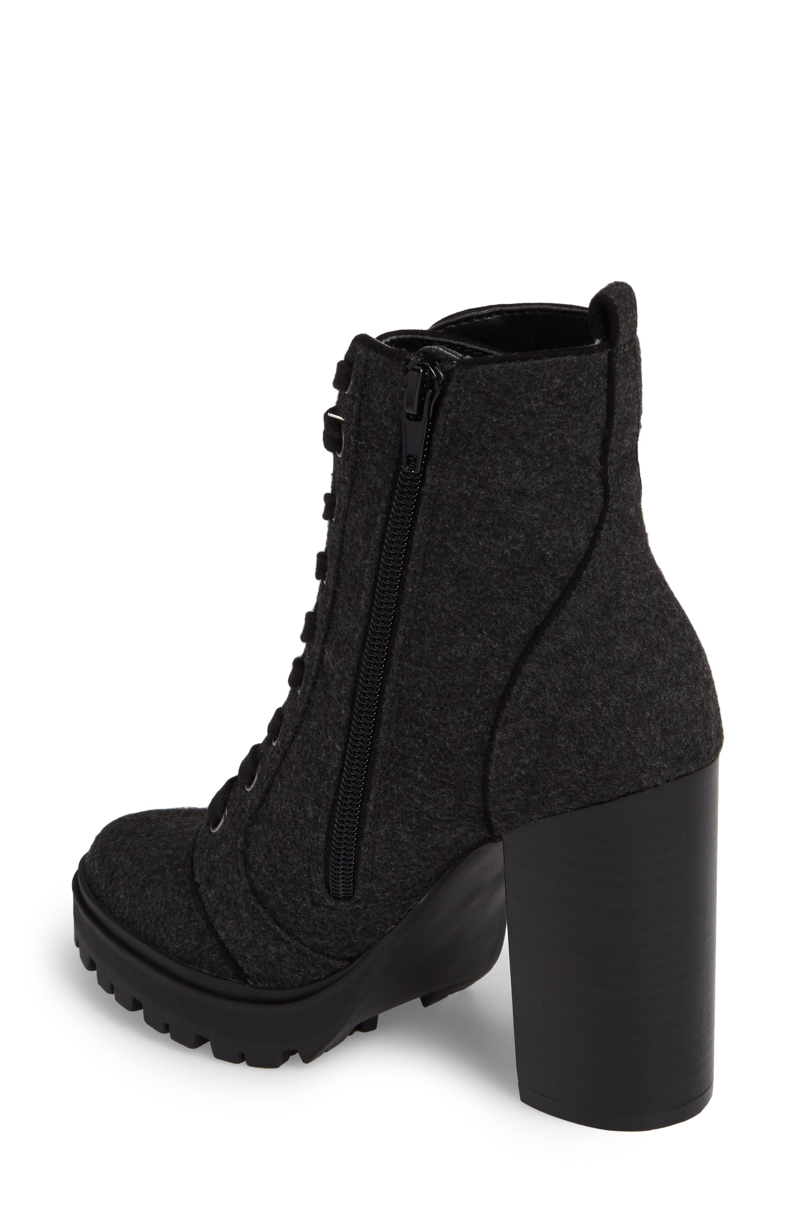 Laurie Platform Bootie,                             Alternate thumbnail 8, color,