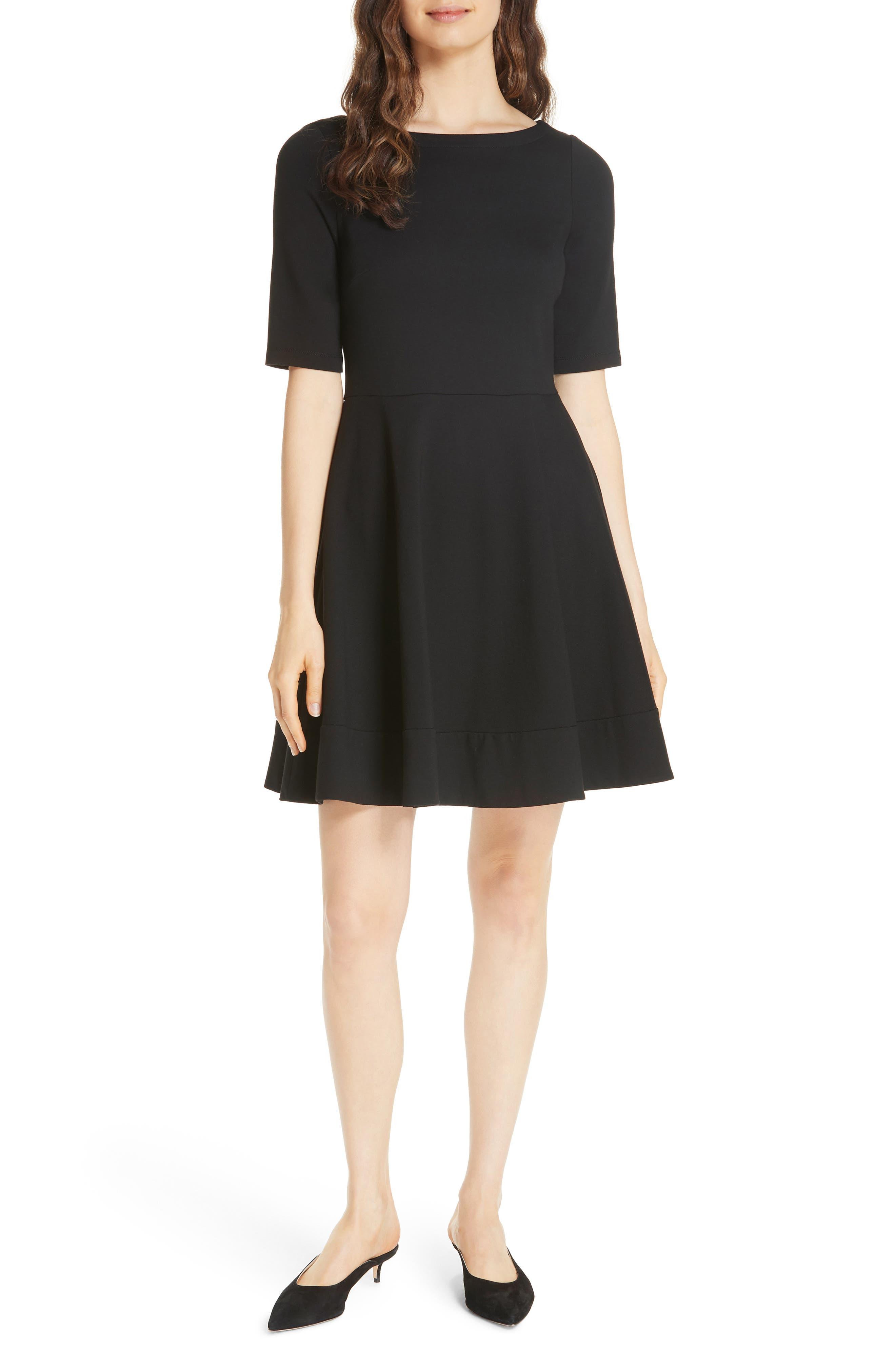Kate Spade New York Lace-Up Ponte Dress