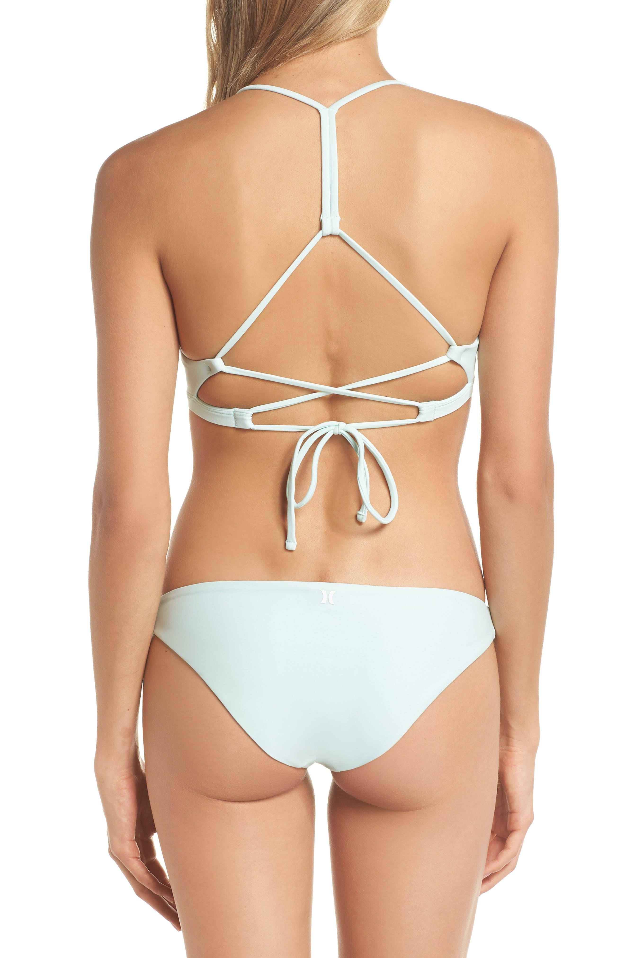 Quick Dry Surf Bikini Top,                             Alternate thumbnail 8, color,                             IGLOO