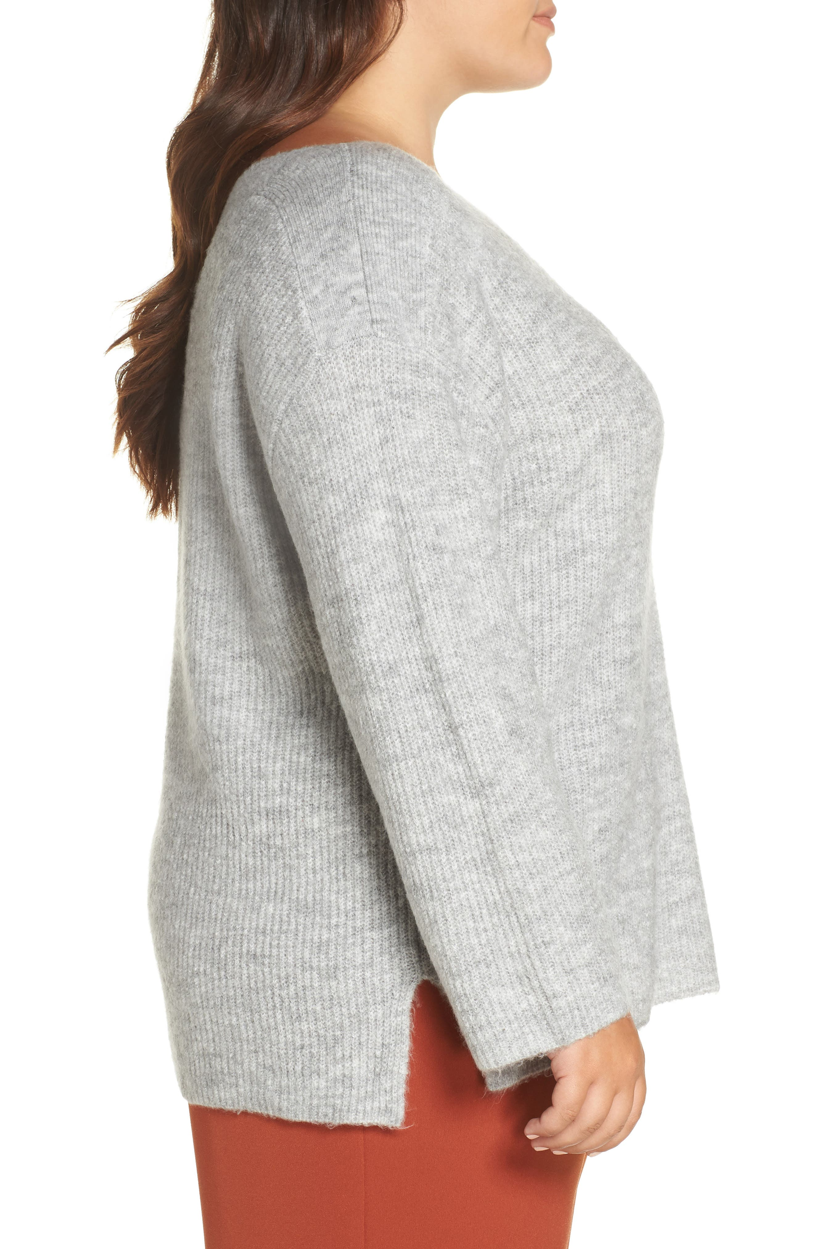 Cozy Femme Pullover Sweater,                             Alternate thumbnail 3, color,                             031