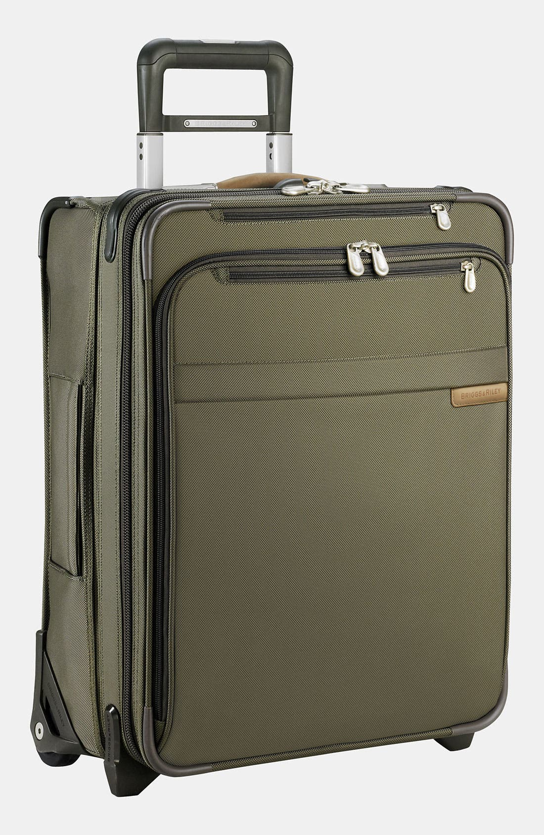 Baseline International 22-Inch Expandable Rolling Carry-On,                             Main thumbnail 1, color,                             OLIVE