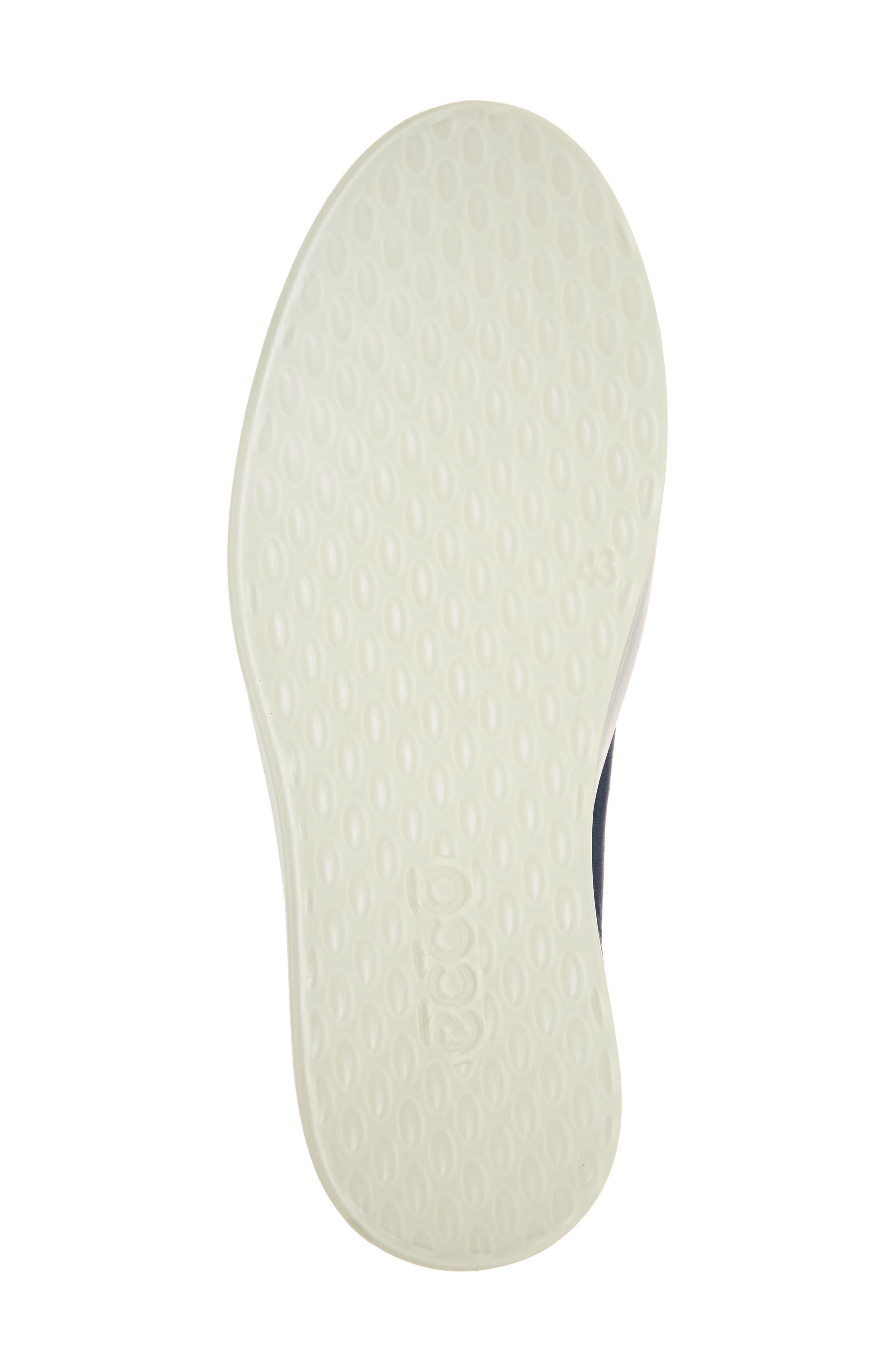 Soft 8 Sneaker,                             Alternate thumbnail 6, color,                             INDIGO 7 LEATHER