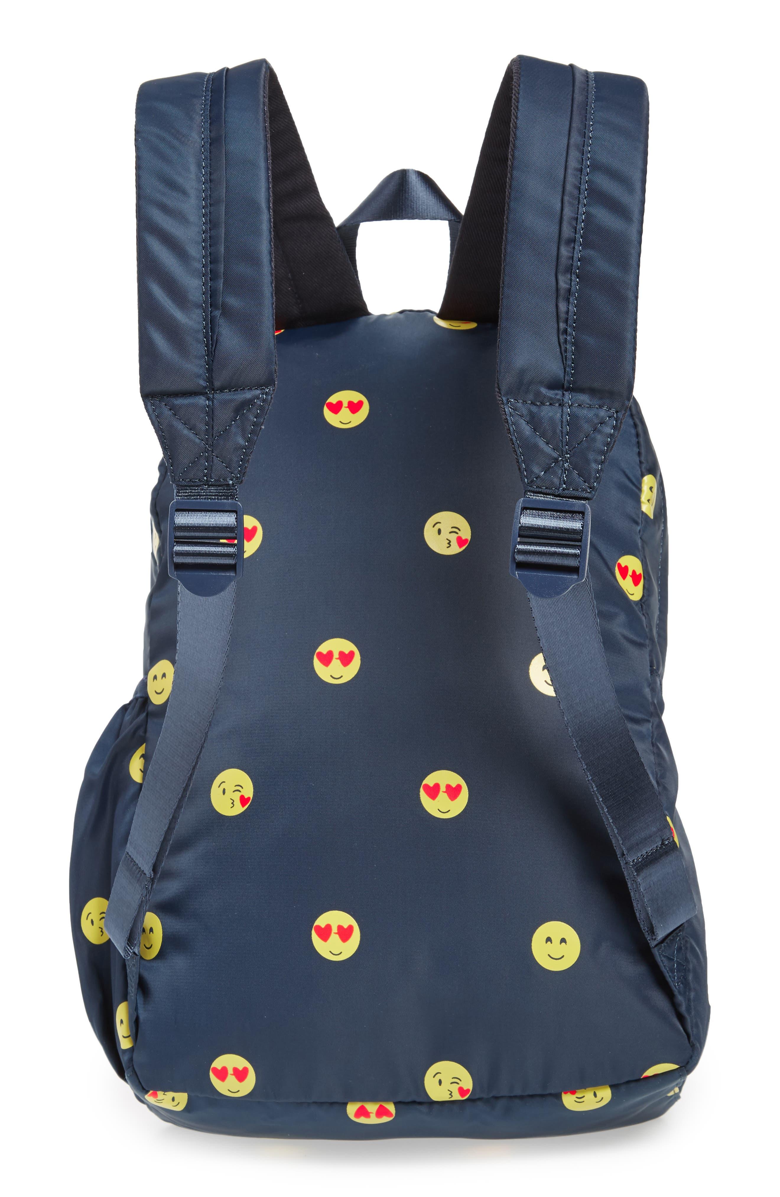 Emoji Backpack,                             Alternate thumbnail 2, color,                             NAVY