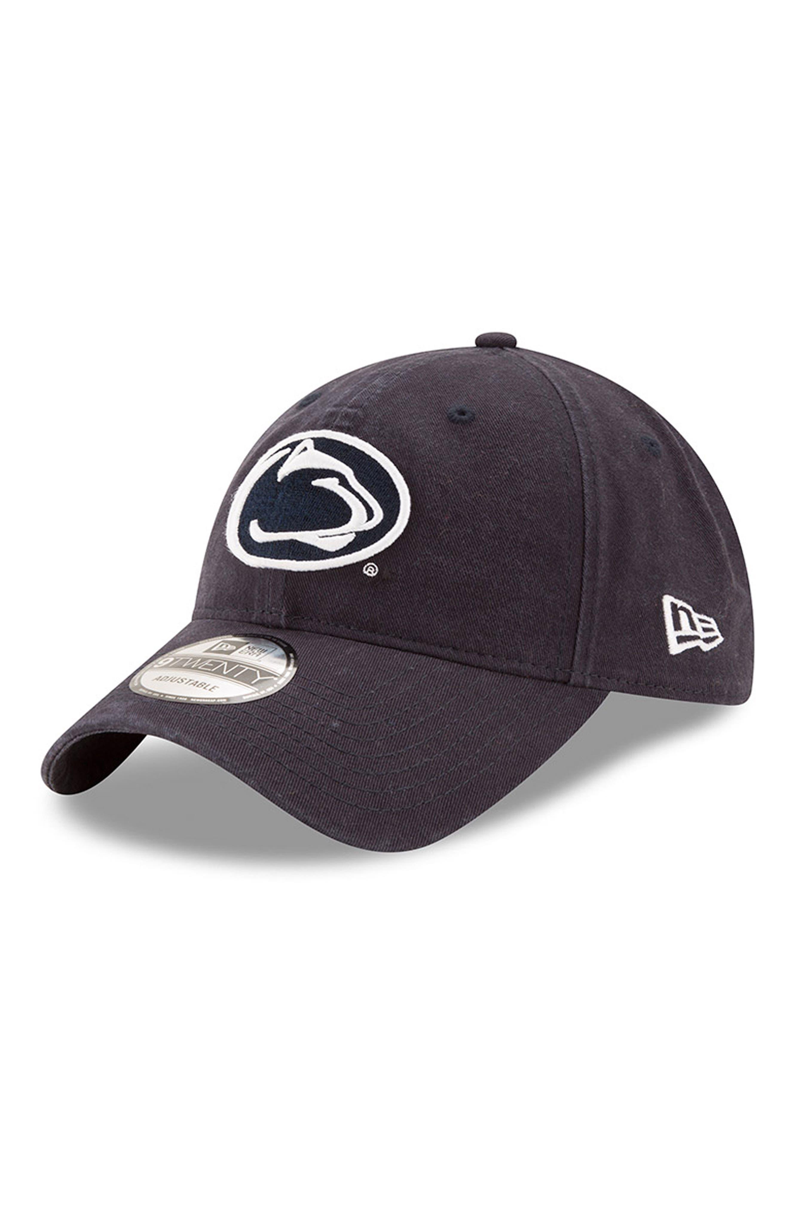 New Era Collegiate Core Classic - Penn State Nittany Lions Baseball Cap,                             Main thumbnail 1, color,