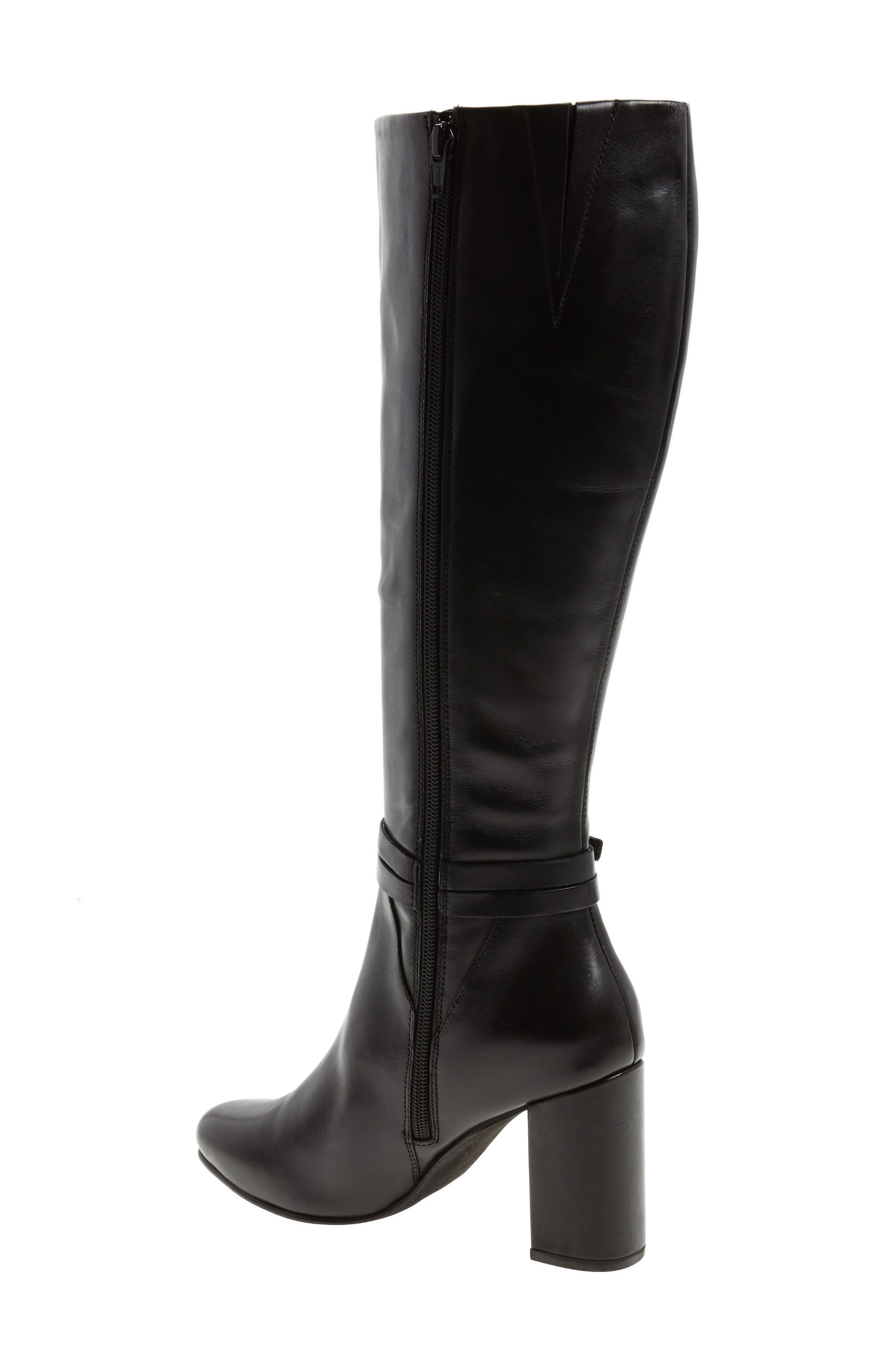 Ovation Knee High Boot,                             Alternate thumbnail 2, color,                             001