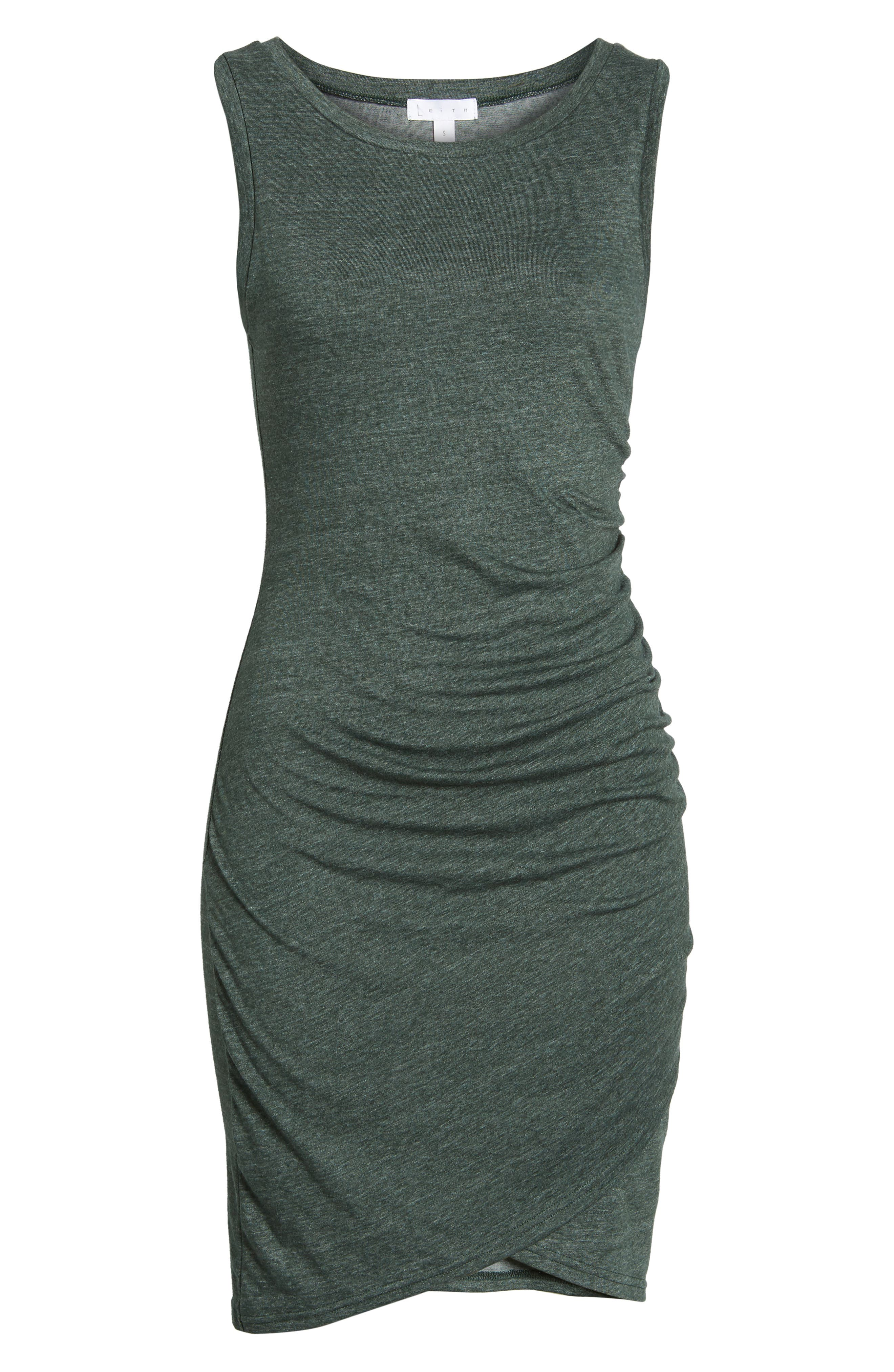 Ruched Body-Con Tank Dress,                             Alternate thumbnail 183, color,