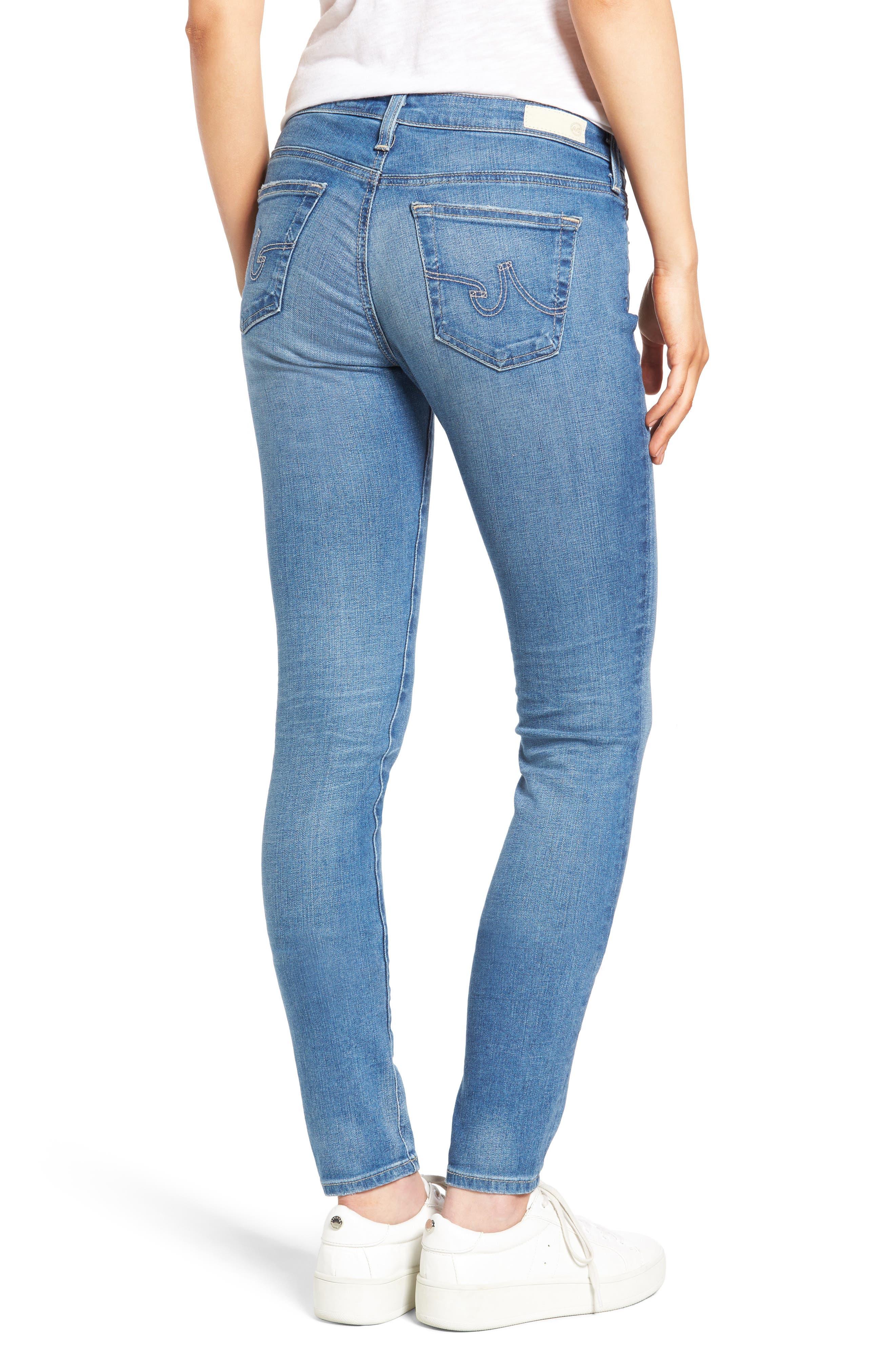 'The Legging' Super Skinny Jeans,                             Alternate thumbnail 24, color,