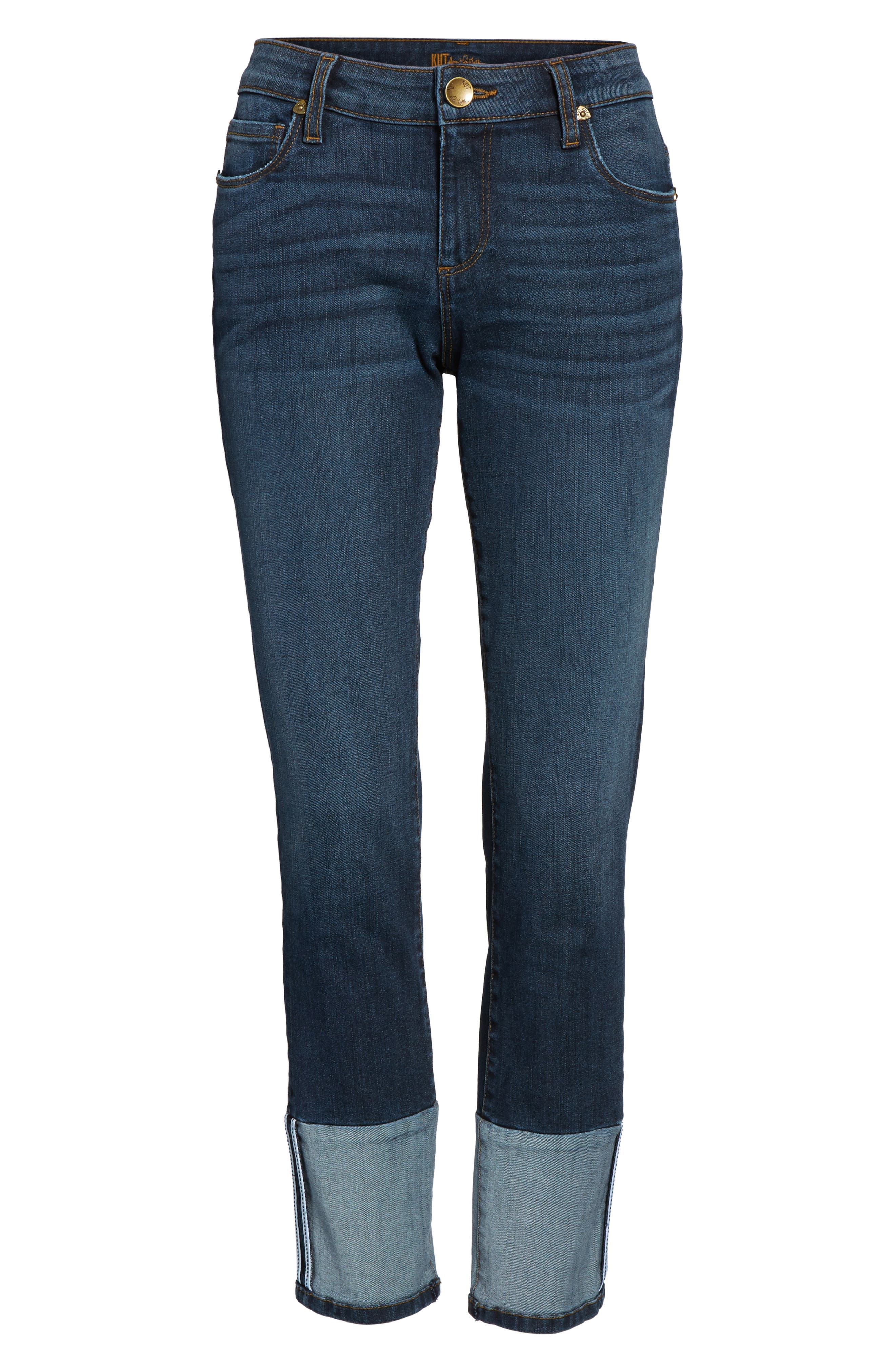 Reese Straight Leg Jeans,                             Alternate thumbnail 6, color,