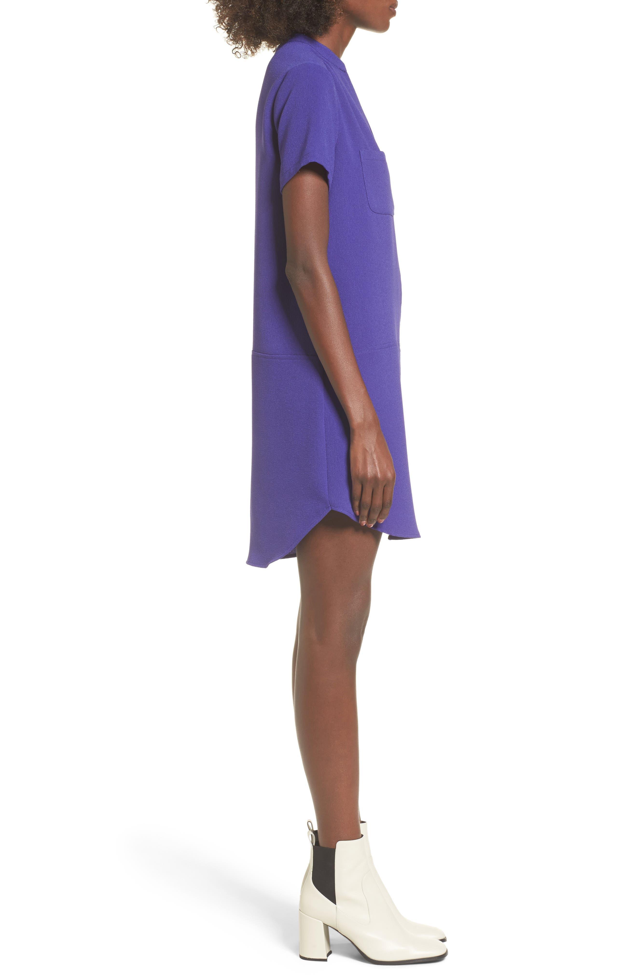 Hailey Crepe Dress,                             Alternate thumbnail 67, color,