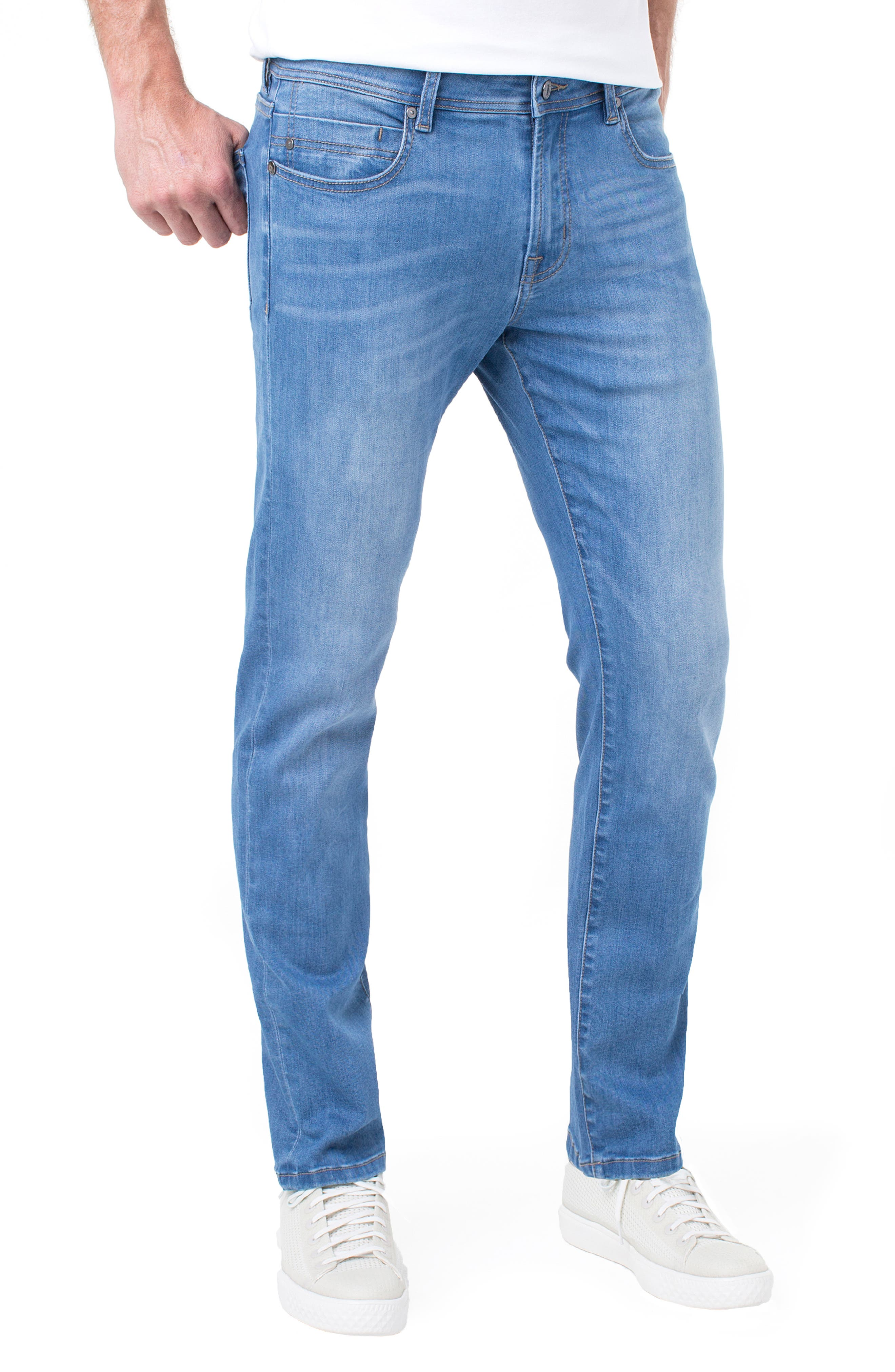 Kingston Slim Straight Leg Jeans,                             Main thumbnail 1, color,                             LORAIN