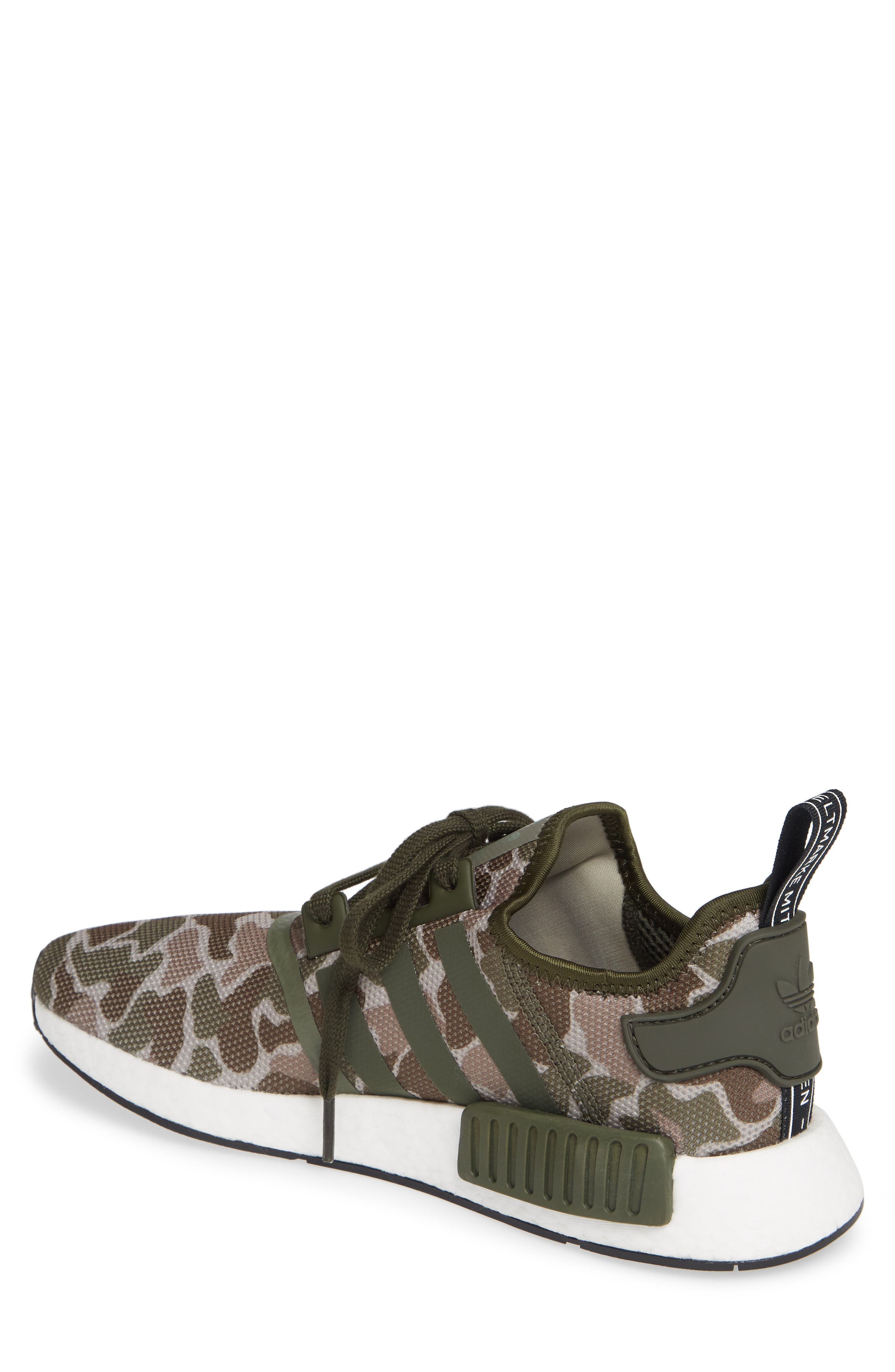 NMD R1 Camo Sneaker,                             Alternate thumbnail 2, color,                             305