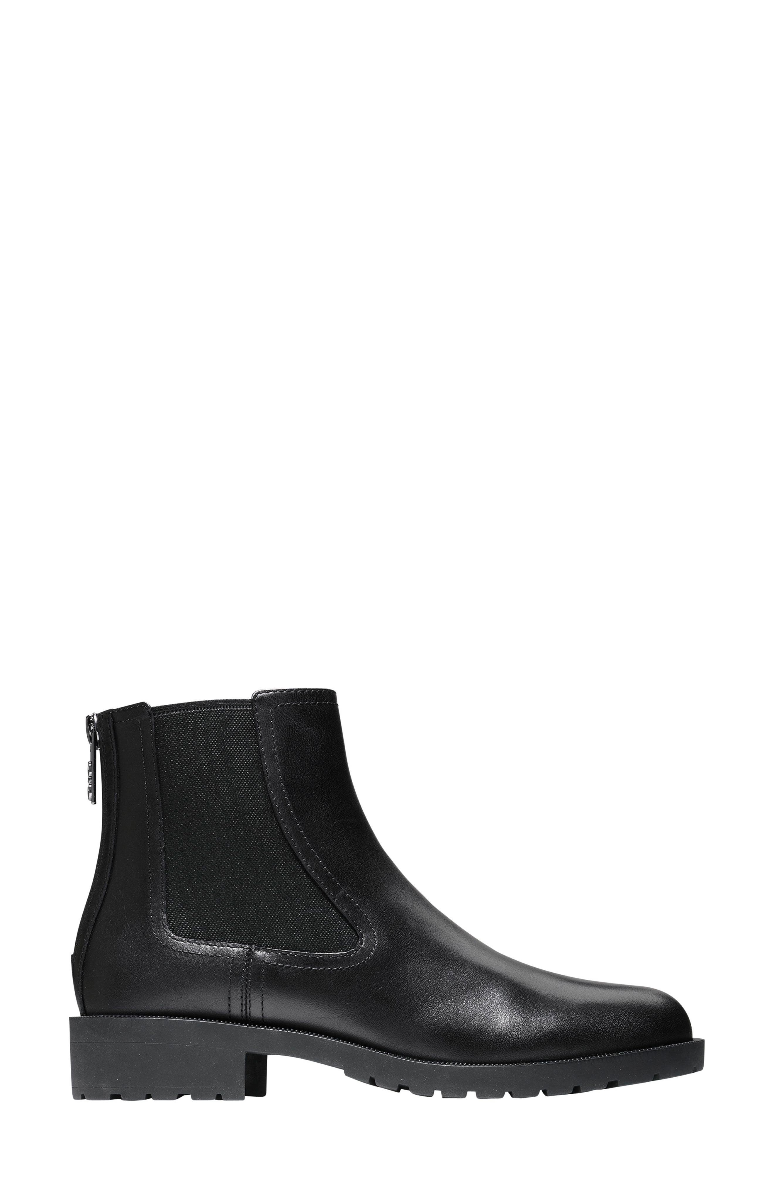 Stanton Weatherproof Chelsea Boot,                             Alternate thumbnail 3, color,                             001