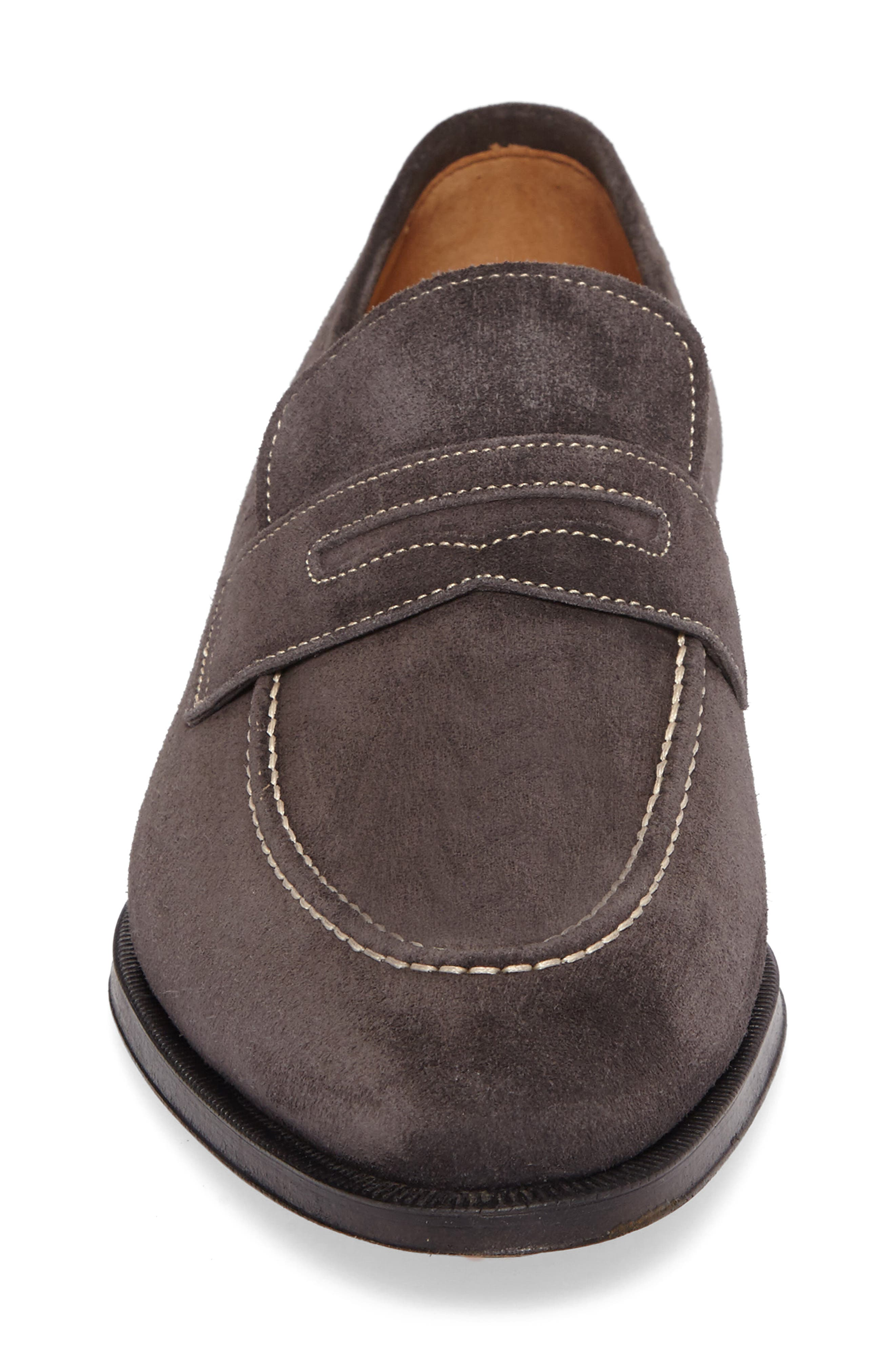 Leather Penny Loafer,                             Alternate thumbnail 16, color,