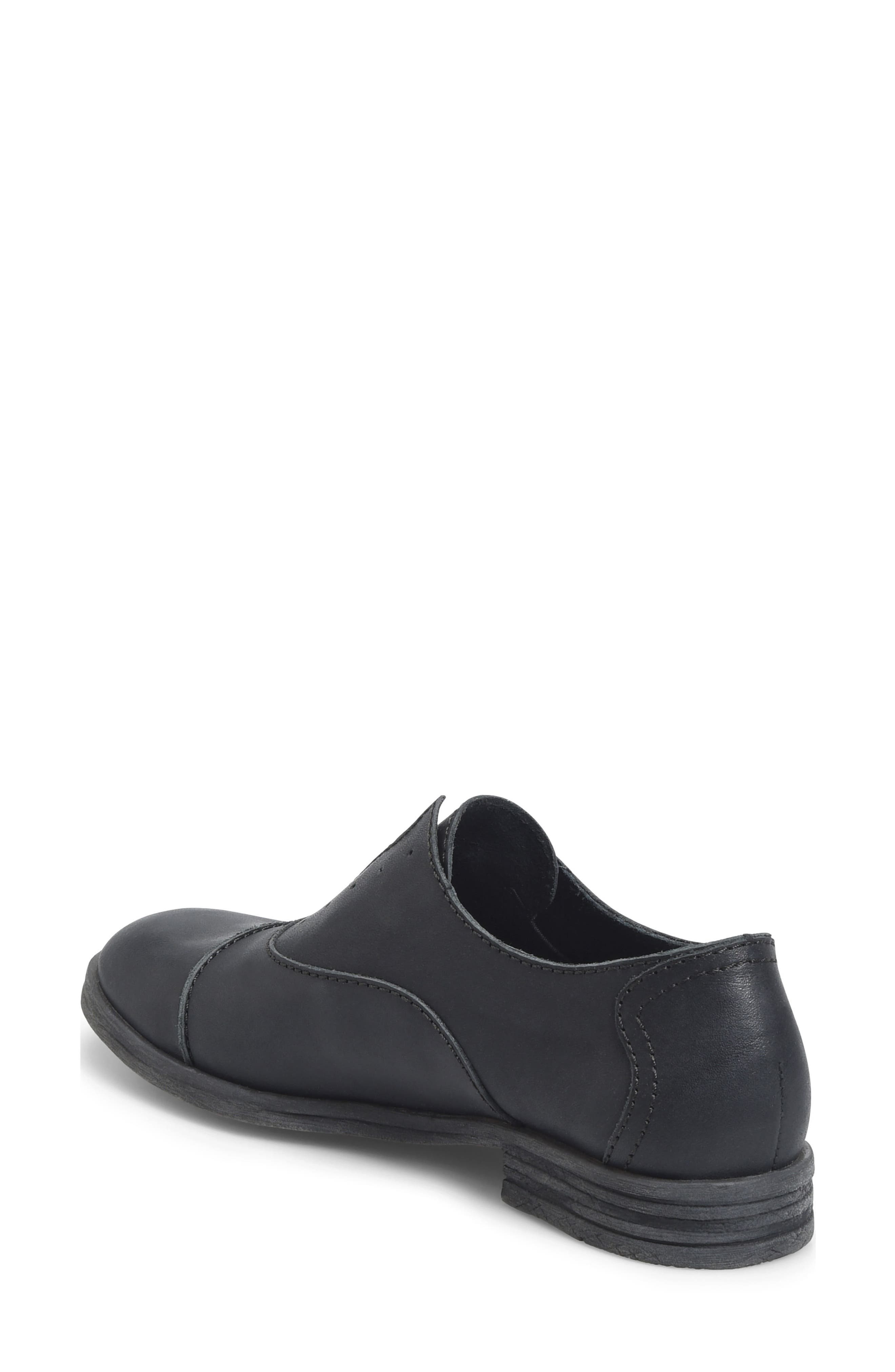 BØRN,                             Forato Slip-On Oxford,                             Alternate thumbnail 2, color,                             001