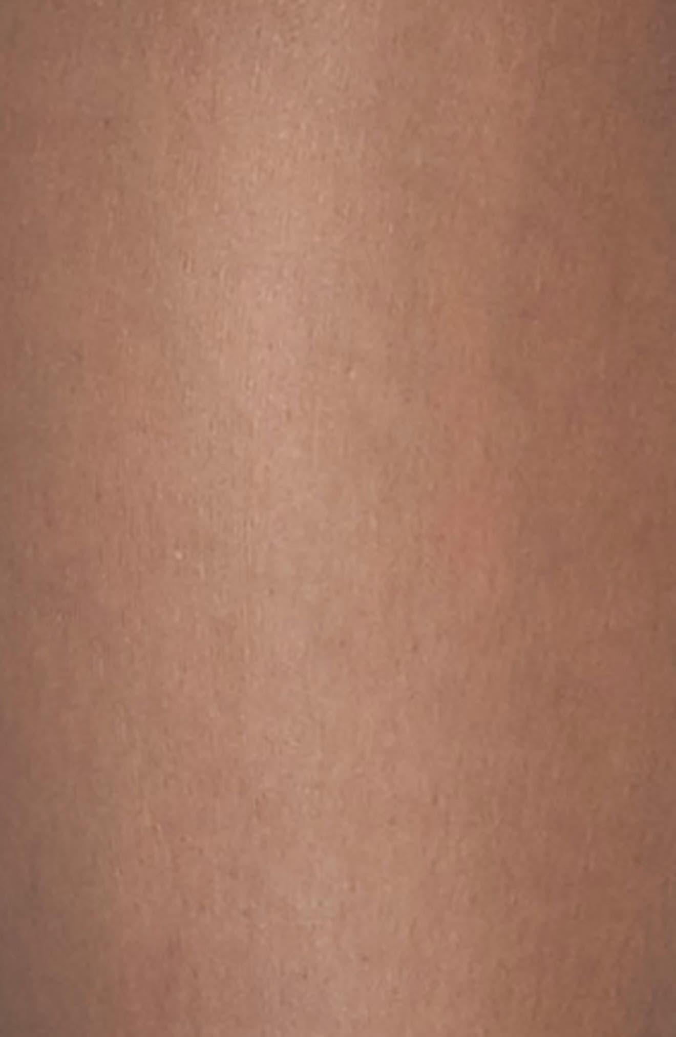 Donna Karan Signature Lace Panty Control Top Pantyhose,                             Alternate thumbnail 3, color,                             001