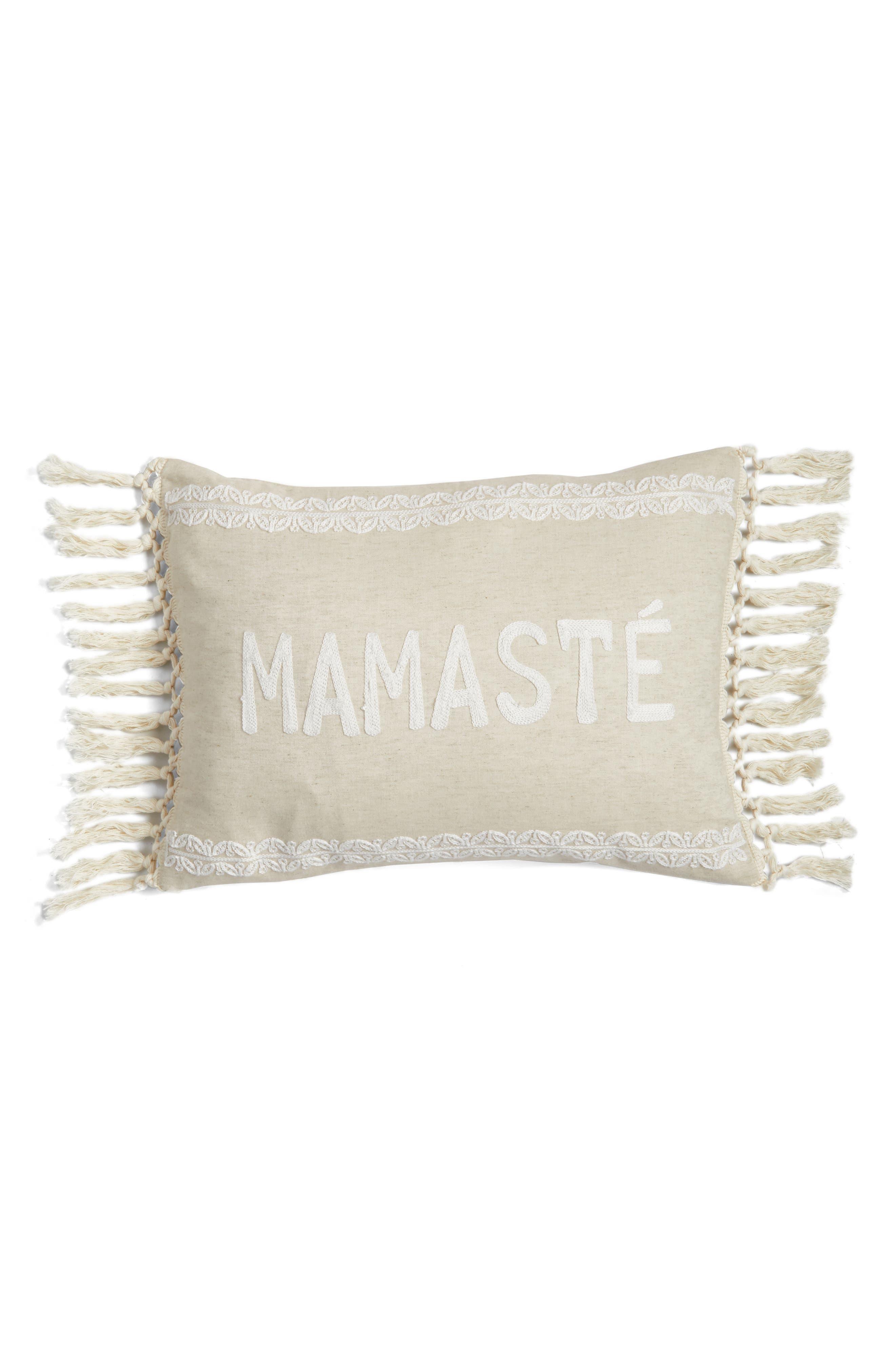 Mamaste Accent Pillow,                             Main thumbnail 1, color,                             250