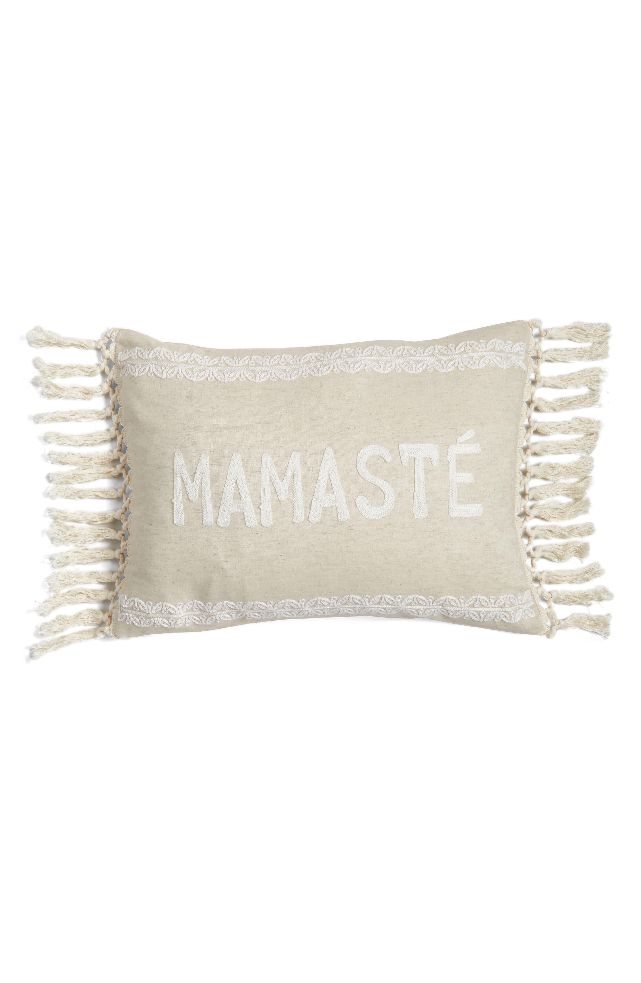 Mamaste Accent Pillow,                         Main,                         color, 250