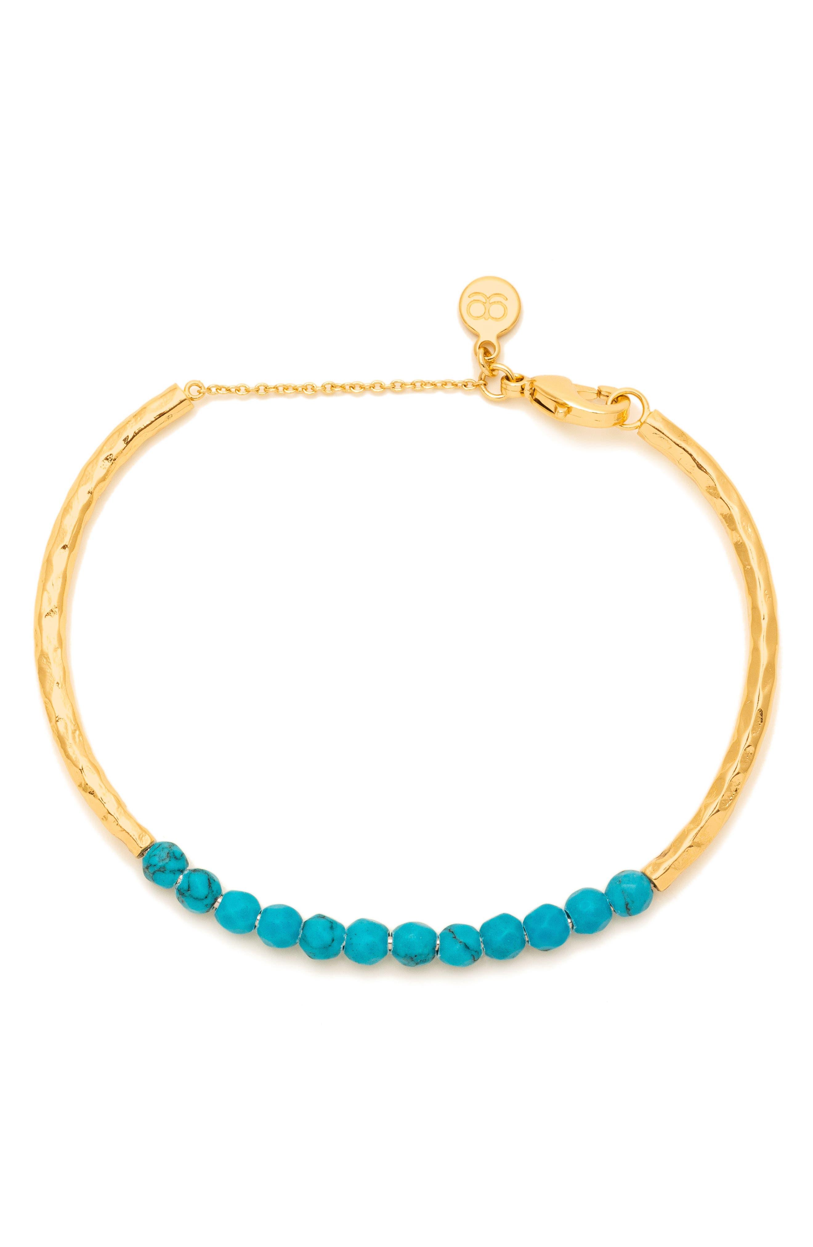 Power Stone Semiprecious Beaded Bracelet,                             Main thumbnail 5, color,