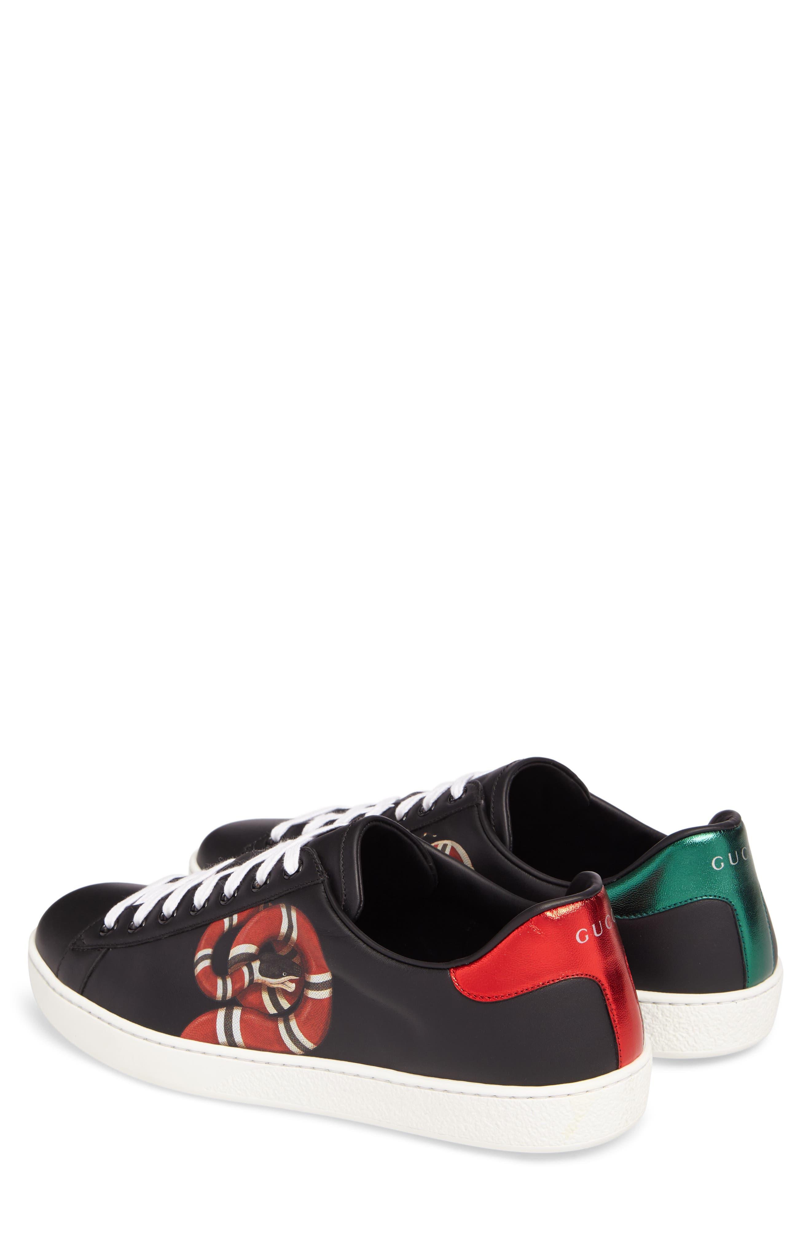 New Ace Kingsnake Print Sneaker,                             Alternate thumbnail 2, color,