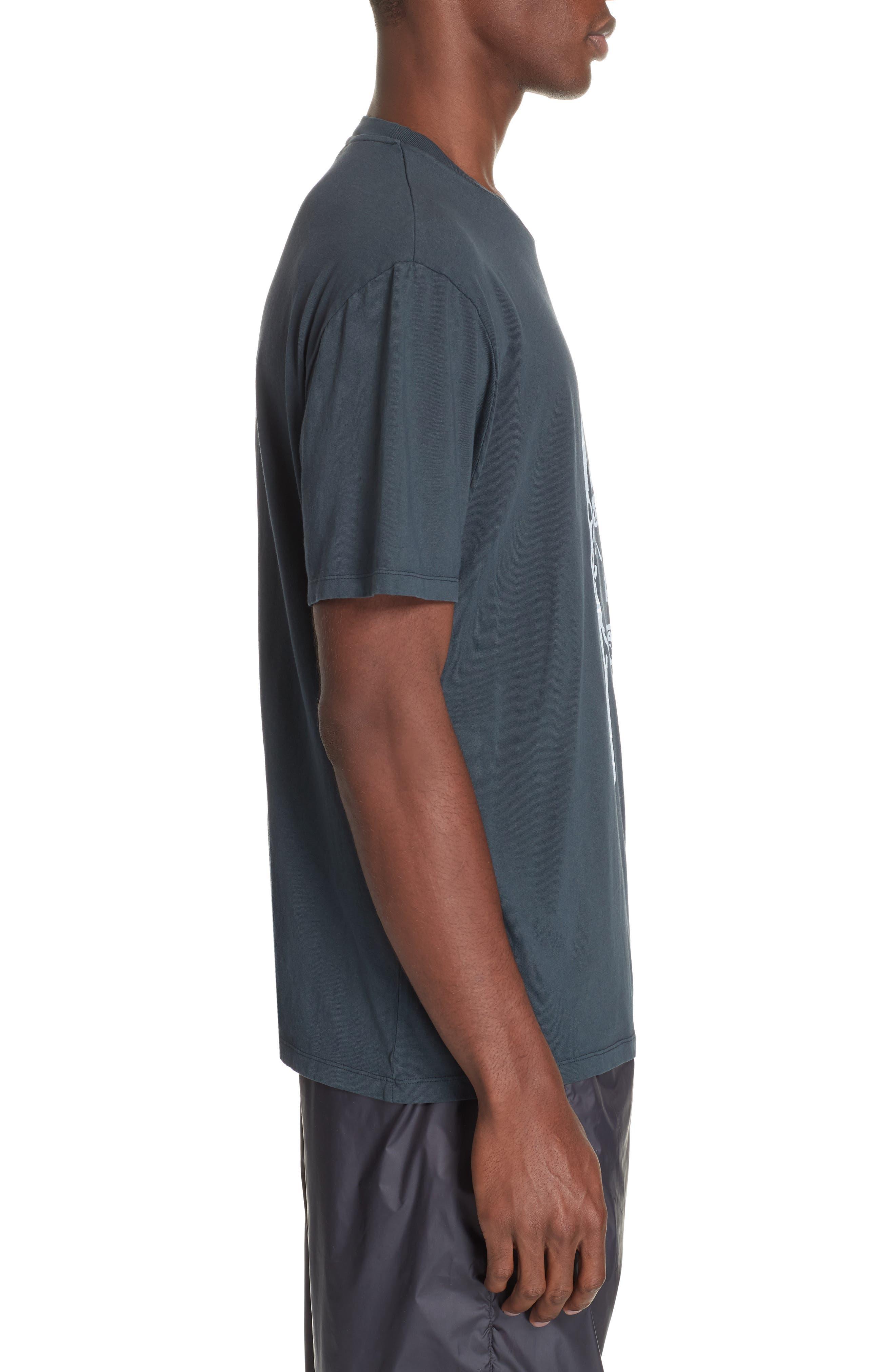 Portrait Graphic Box T-shirt,                             Alternate thumbnail 3, color,                             BLACK