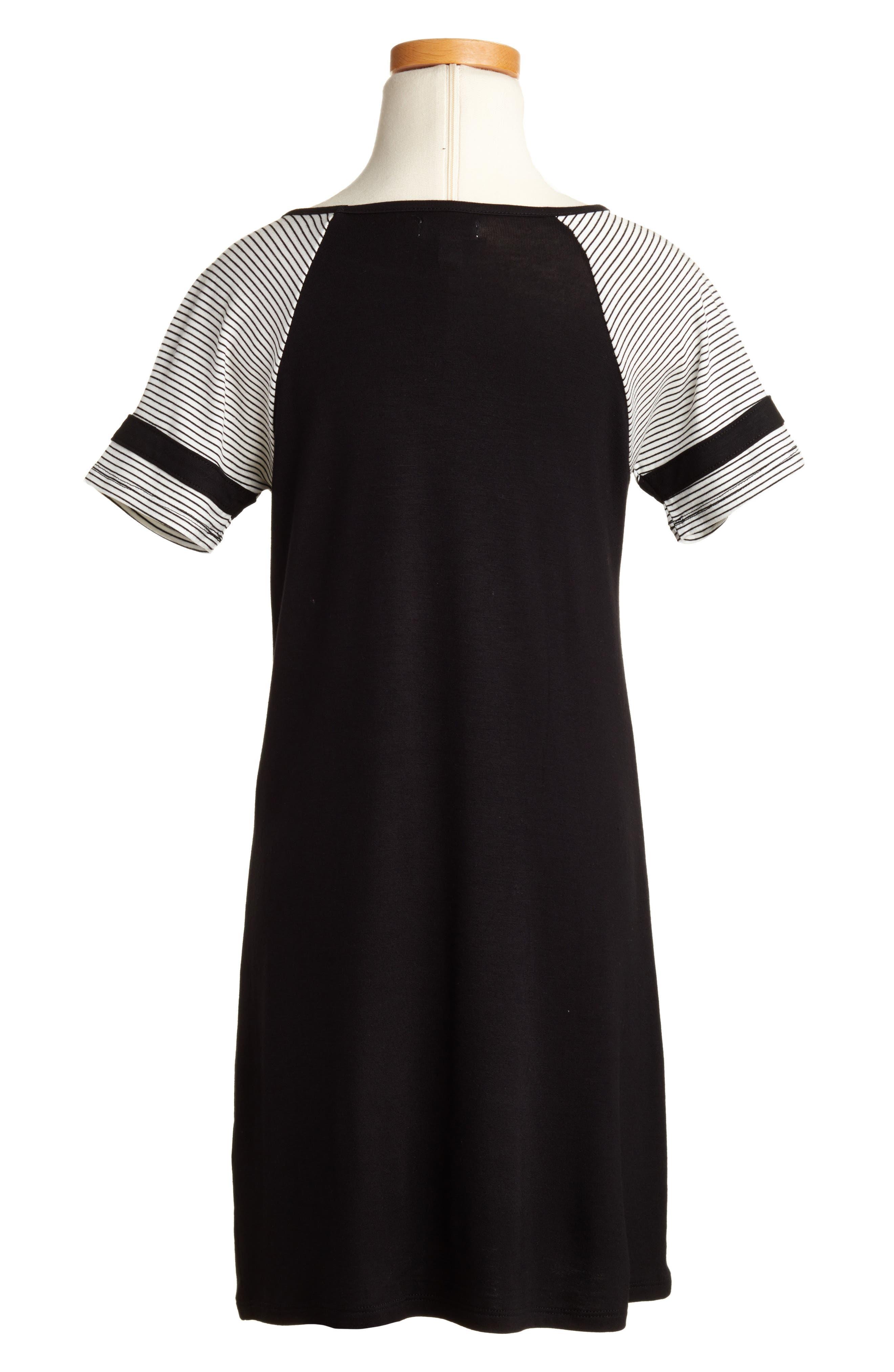 Baseball Dress,                             Alternate thumbnail 2, color,                             001