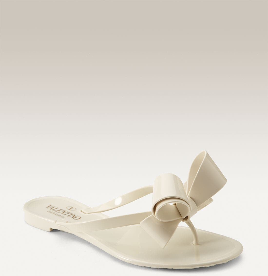 Couture Bow Thong Sandal,                             Main thumbnail 3, color,