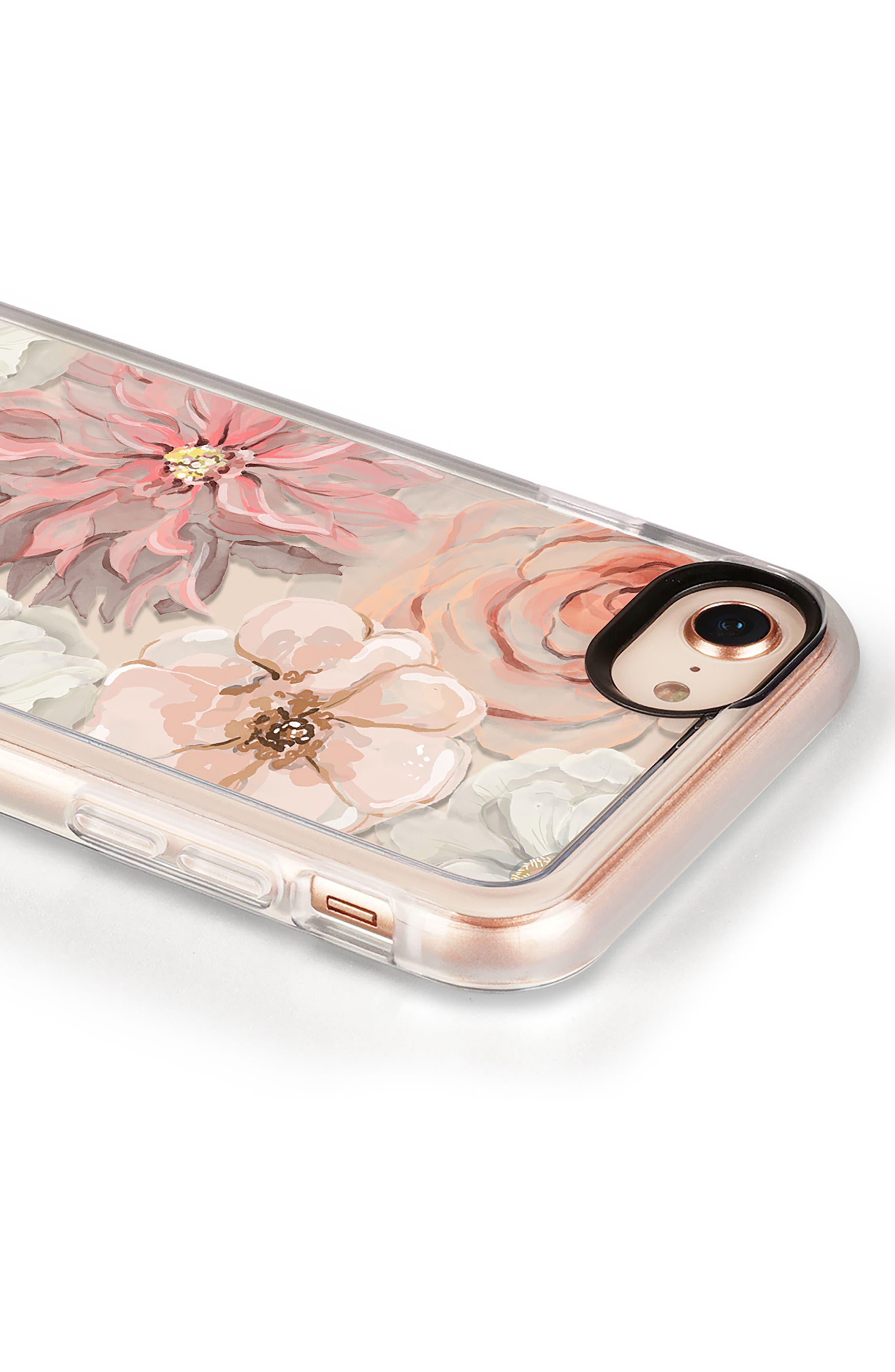 Pretty Blush iPhone 7/8 & 7/8 Plus Case,                             Alternate thumbnail 4, color,                             BLUSH PINK