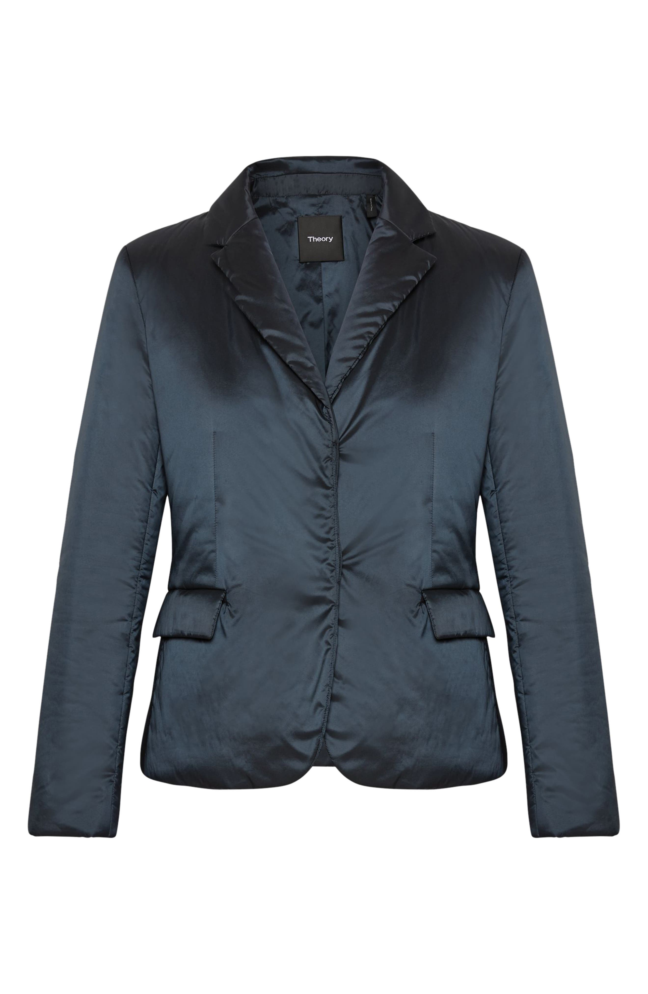 THEORY,                             Puffer Down Blazer,                             Alternate thumbnail 5, color,                             490