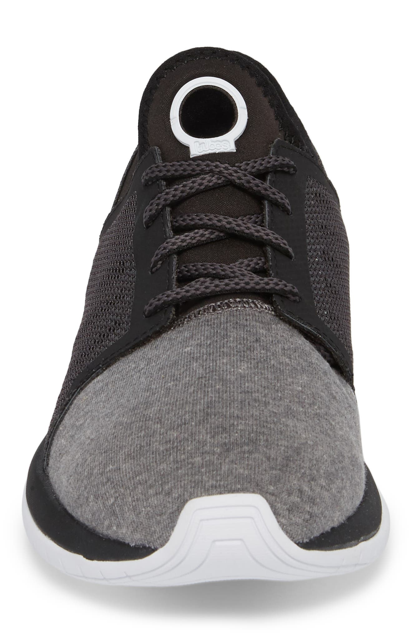 Tubes Millennia Sneaker,                             Alternate thumbnail 4, color,                             BLACK/ WHITE