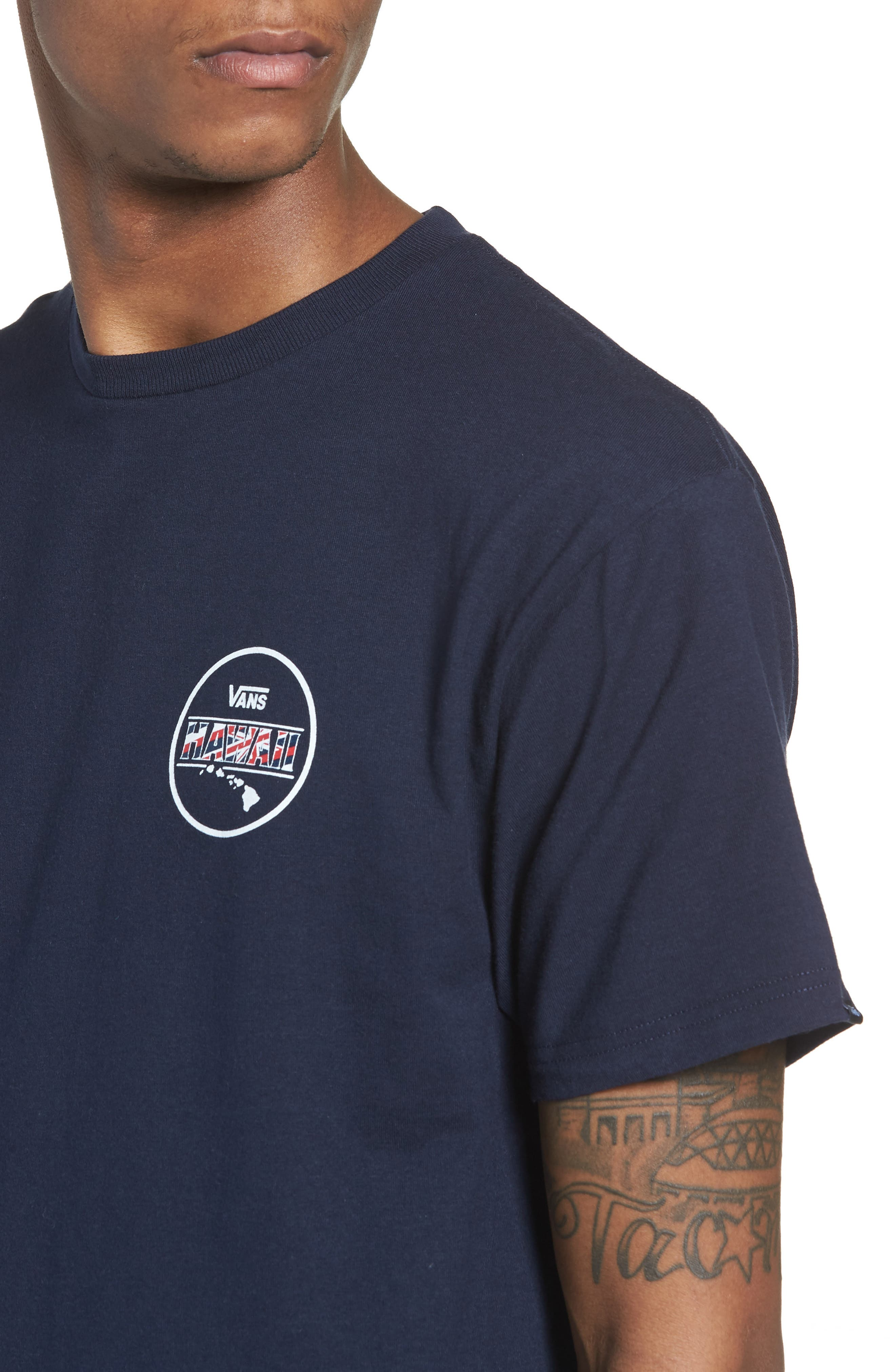 Makai Fill II Graphic T-Shirt,                             Alternate thumbnail 4, color,
