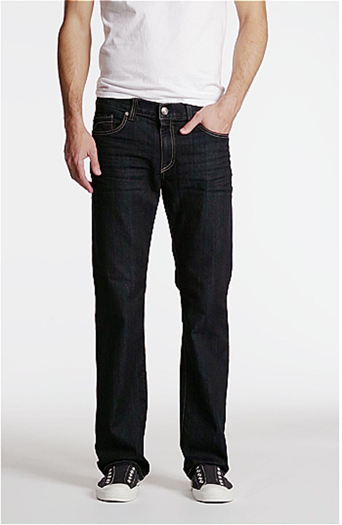 '50-11' Straight Leg Jeans,                             Alternate thumbnail 4, color,