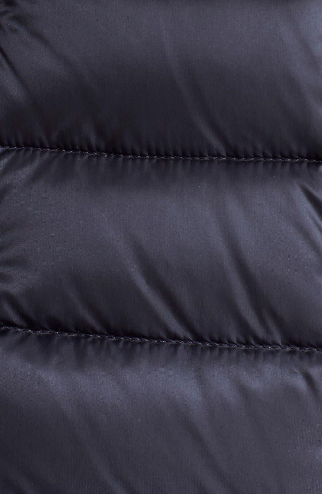 'Agape' Water Resistant Hooded Down Jacket,                             Alternate thumbnail 3, color,                             419